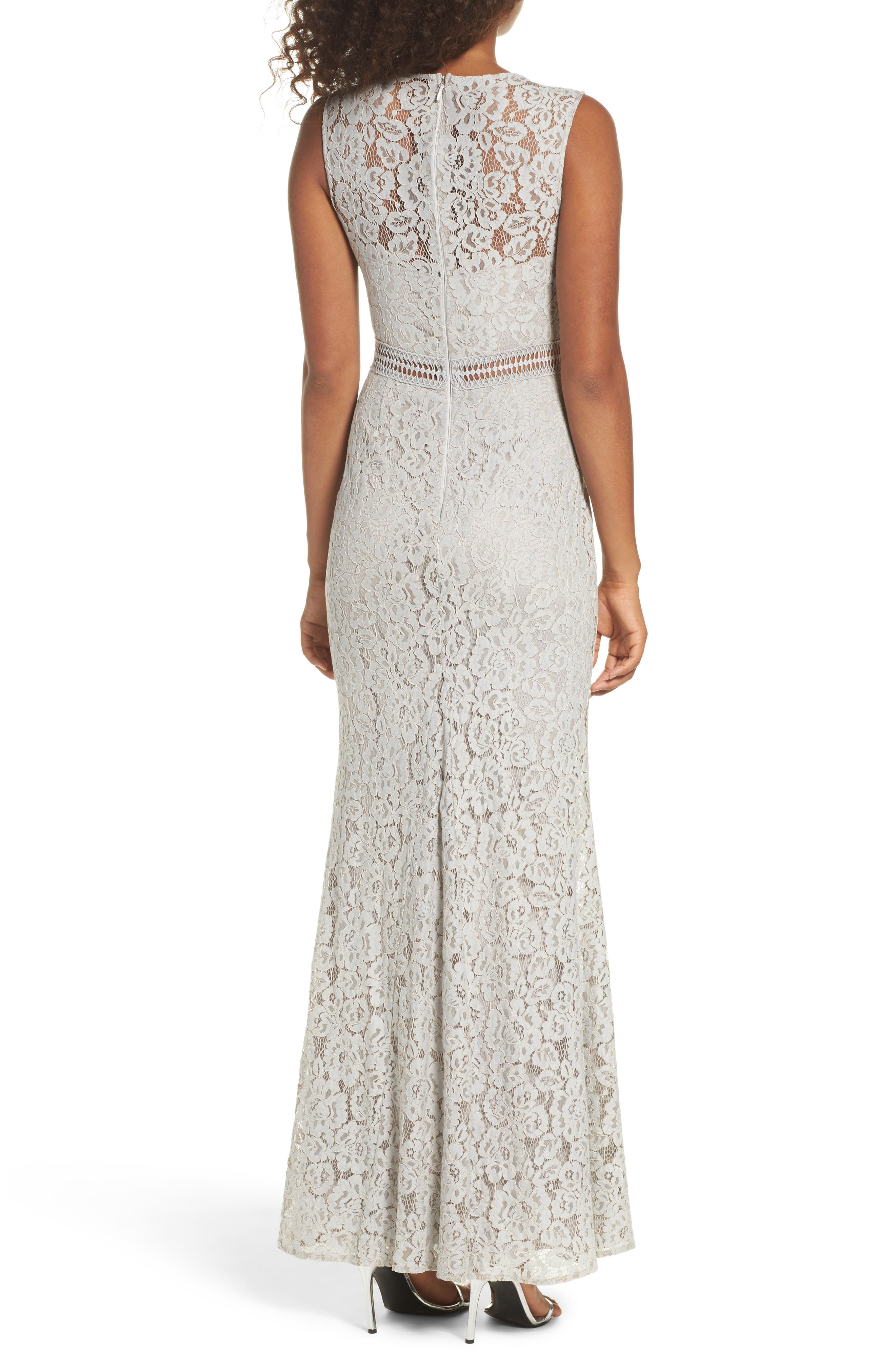 Music of the Heart Lace Maxi Dress,                             Alternate thumbnail 2, color,                             020