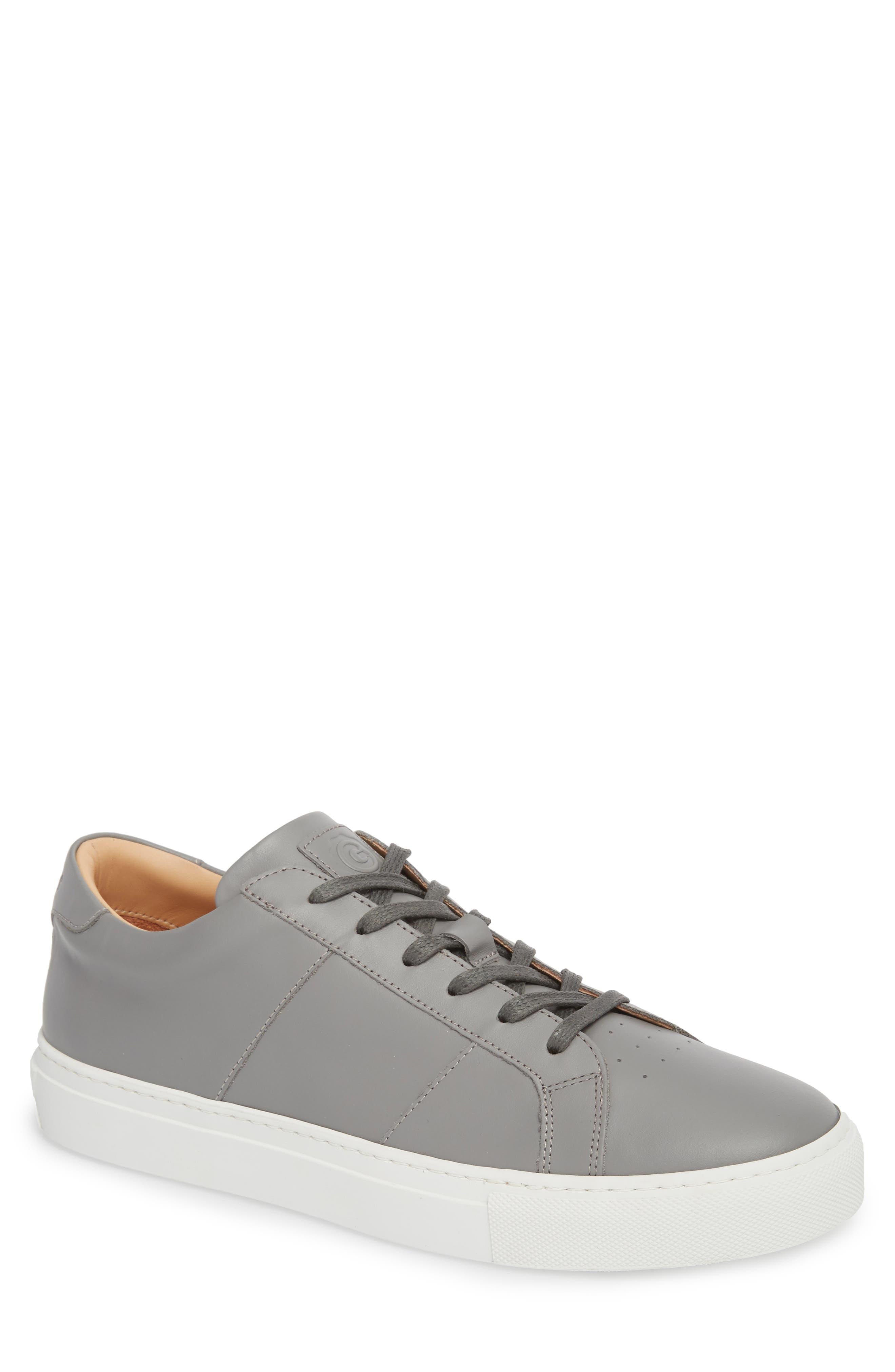 GREATS Royale Sneaker in Grey Leather