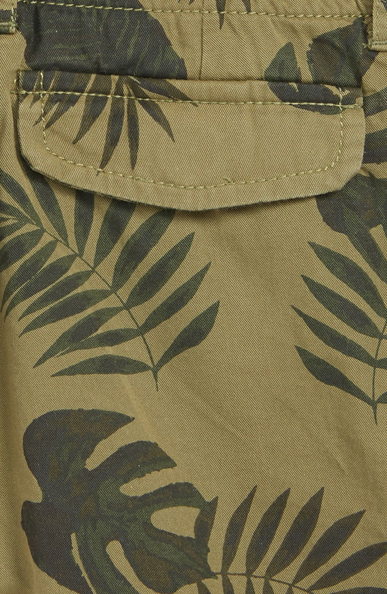 PEEK AREN'T YOU CURIOUS,                             Be Leaf in Me Shorts,                             Alternate thumbnail 3, color,                             OLIVE