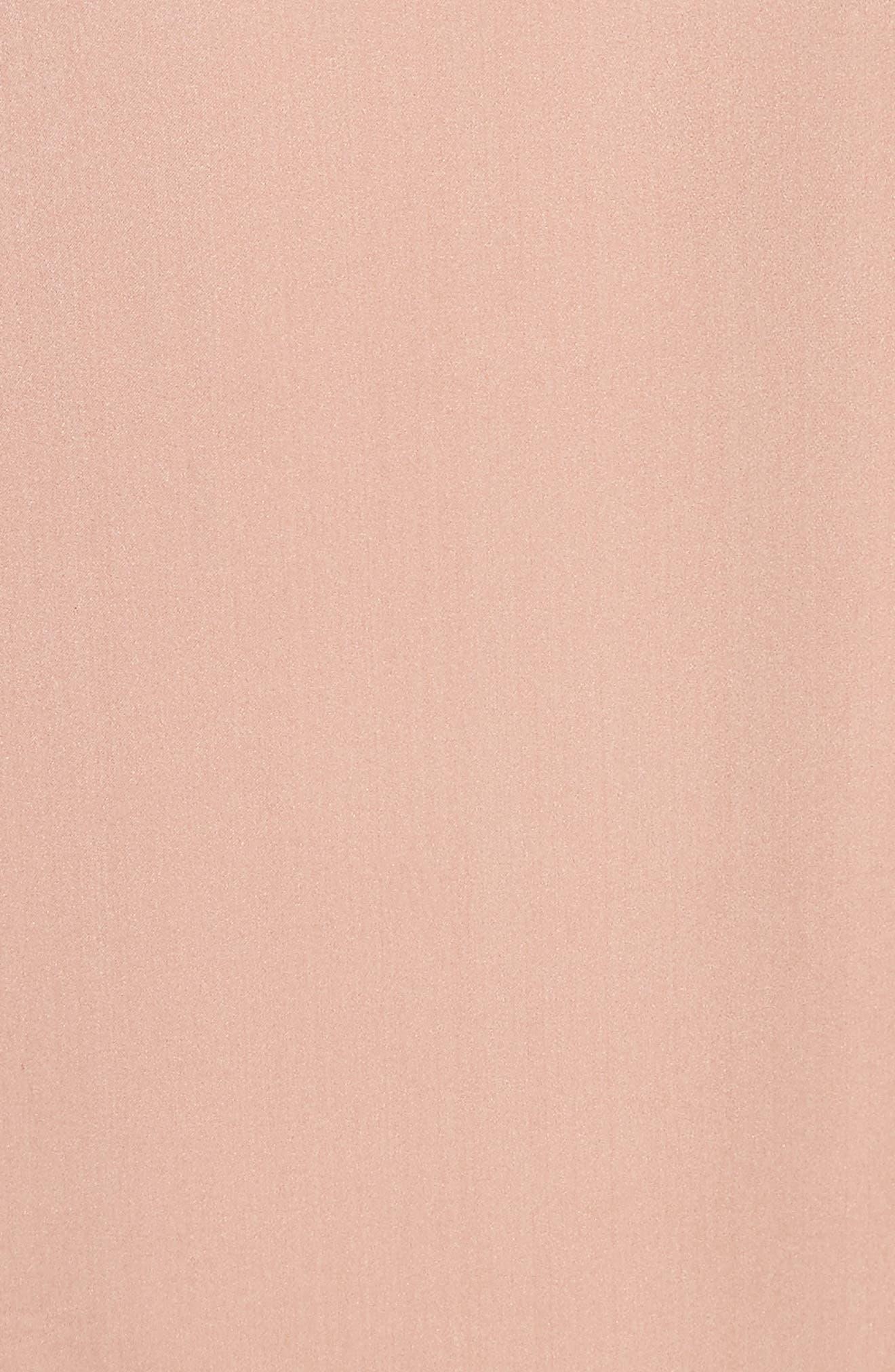 Fringe Silk Skirt,                             Alternate thumbnail 5, color,                             657