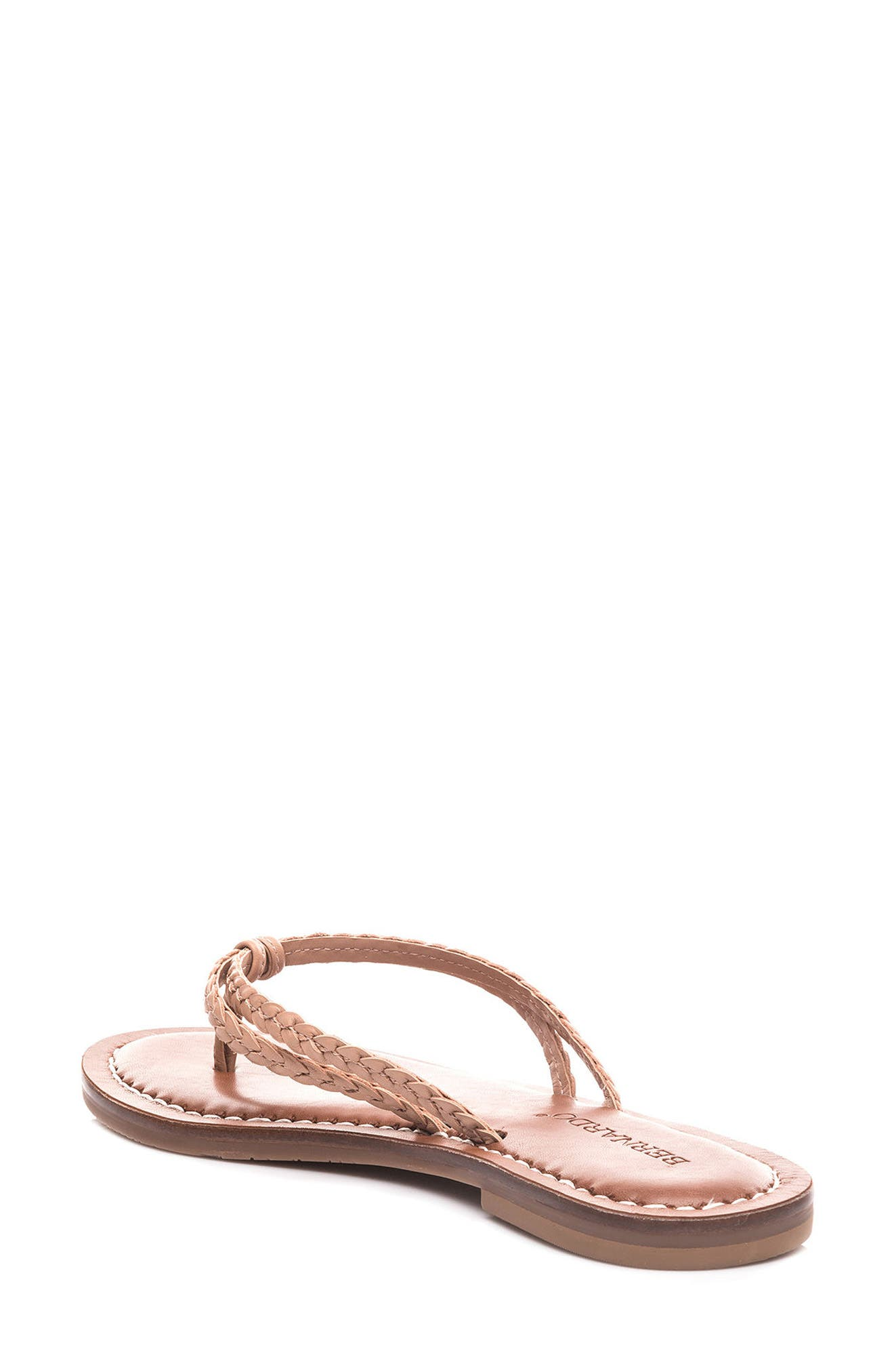 Bernardo Greta Braided Strap Sandal,                             Alternate thumbnail 12, color,
