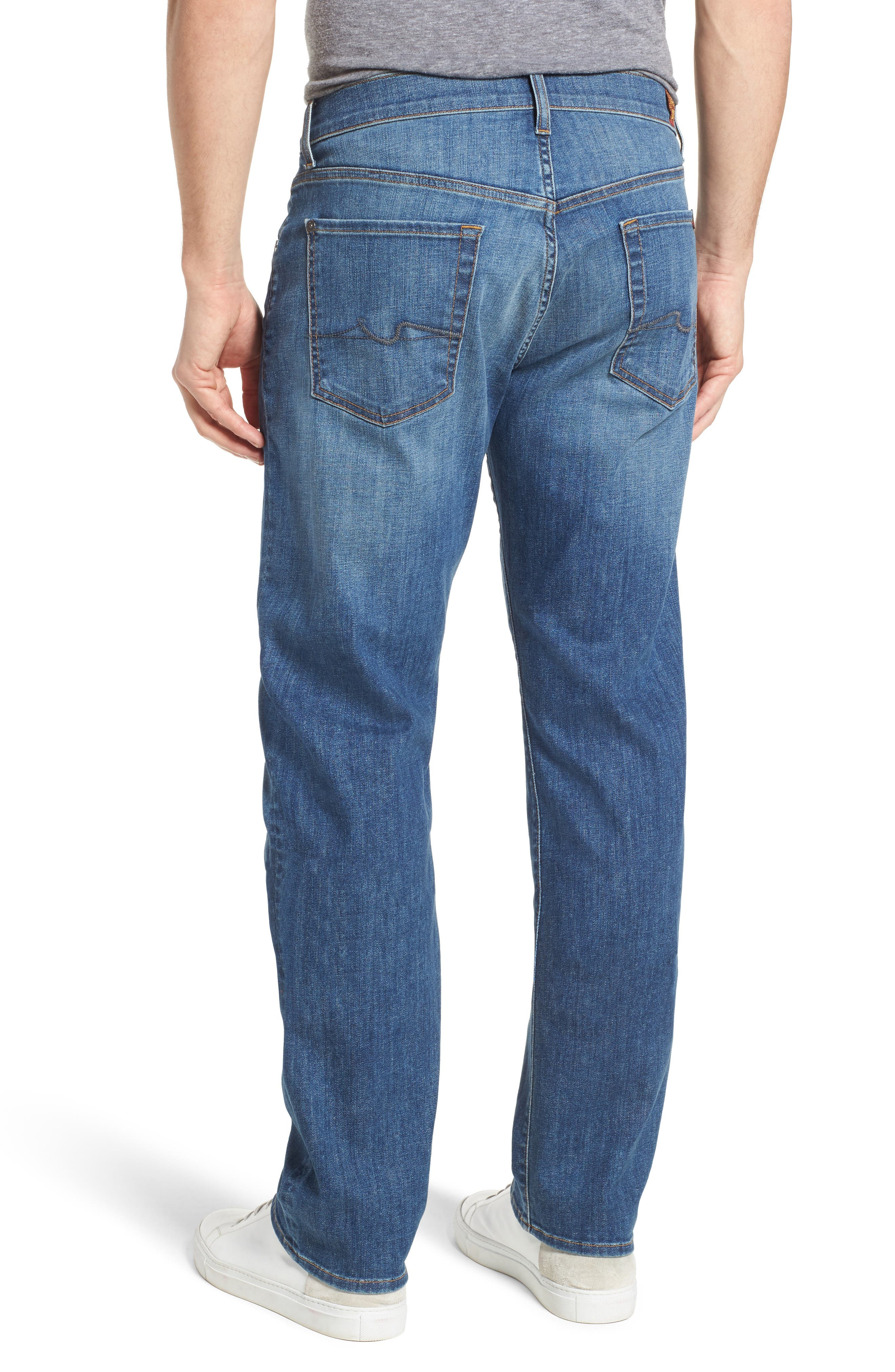 The Standard Straight Fit Jeans,                             Alternate thumbnail 2, color,                             401