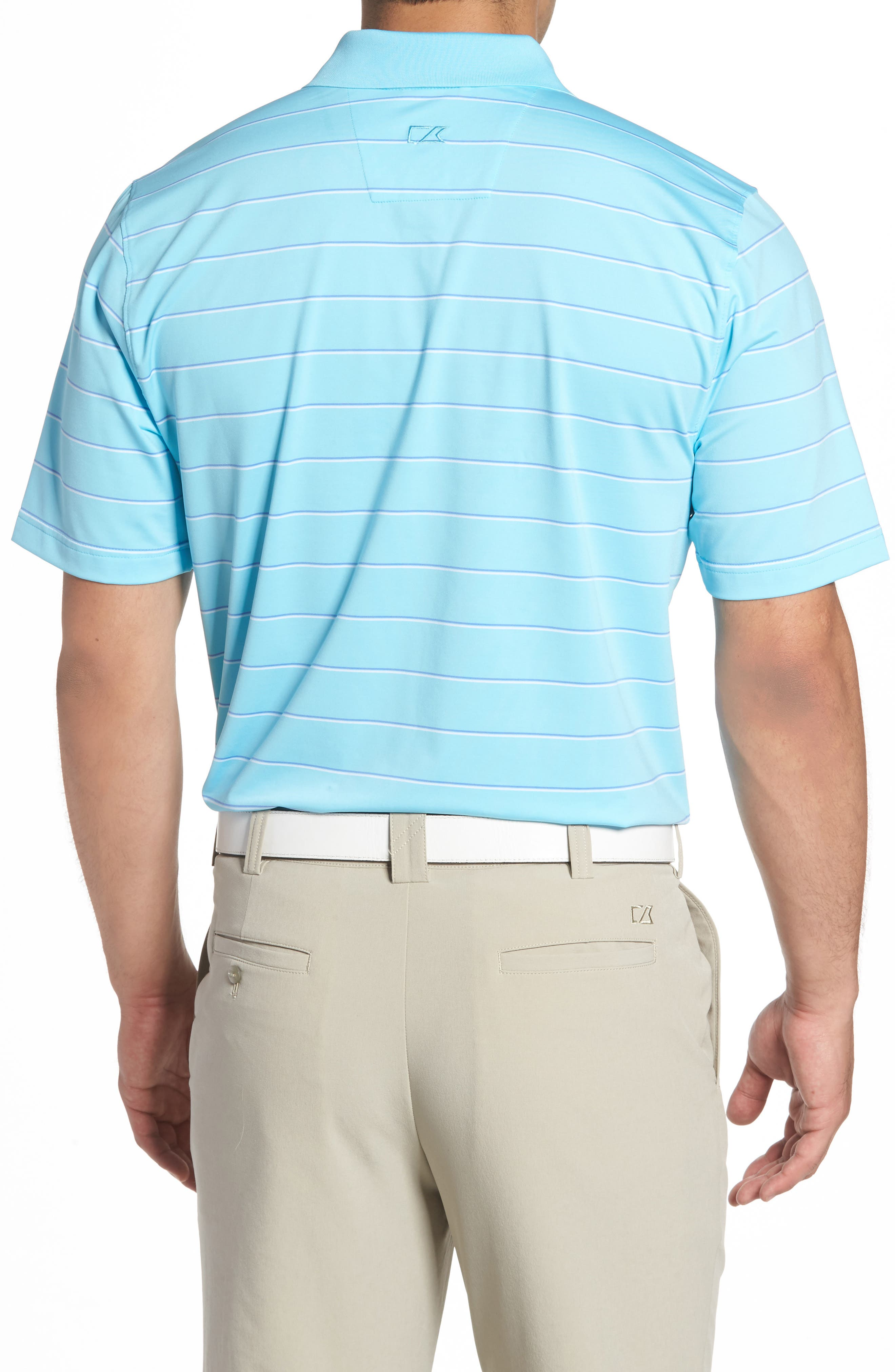 Friday Harbor Stripe Polo,                             Alternate thumbnail 2, color,                             449