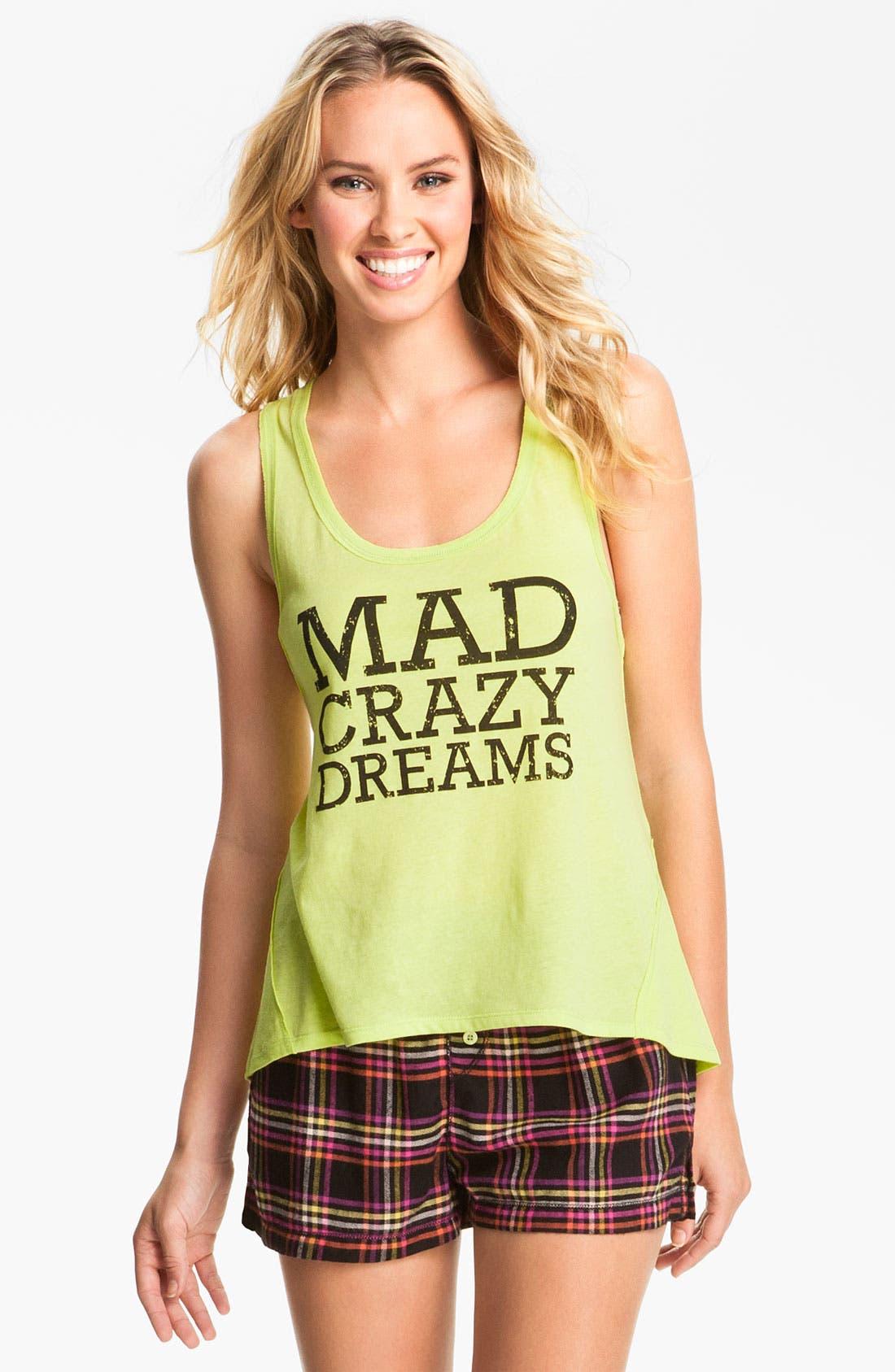 'Mad Crazy Dreams' Tank,                             Main thumbnail 4, color,
