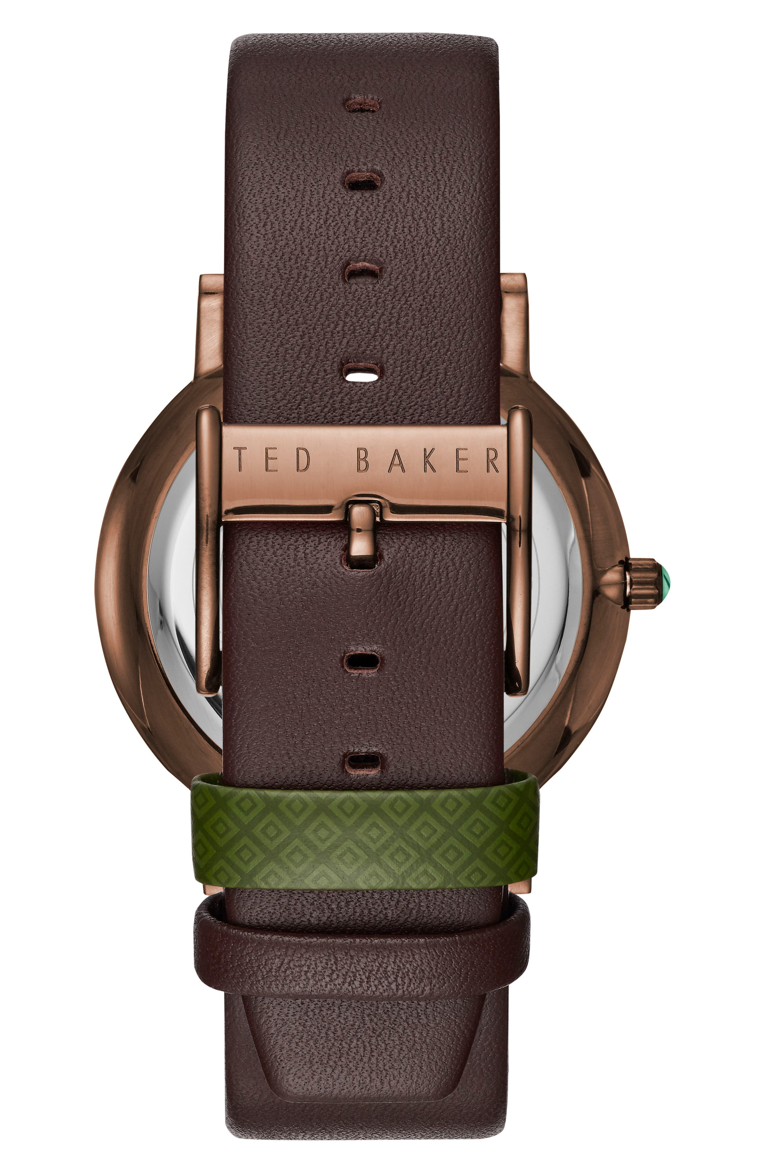 Grant Leather Strap Watch, 40mm,                             Alternate thumbnail 2, color,                             201
