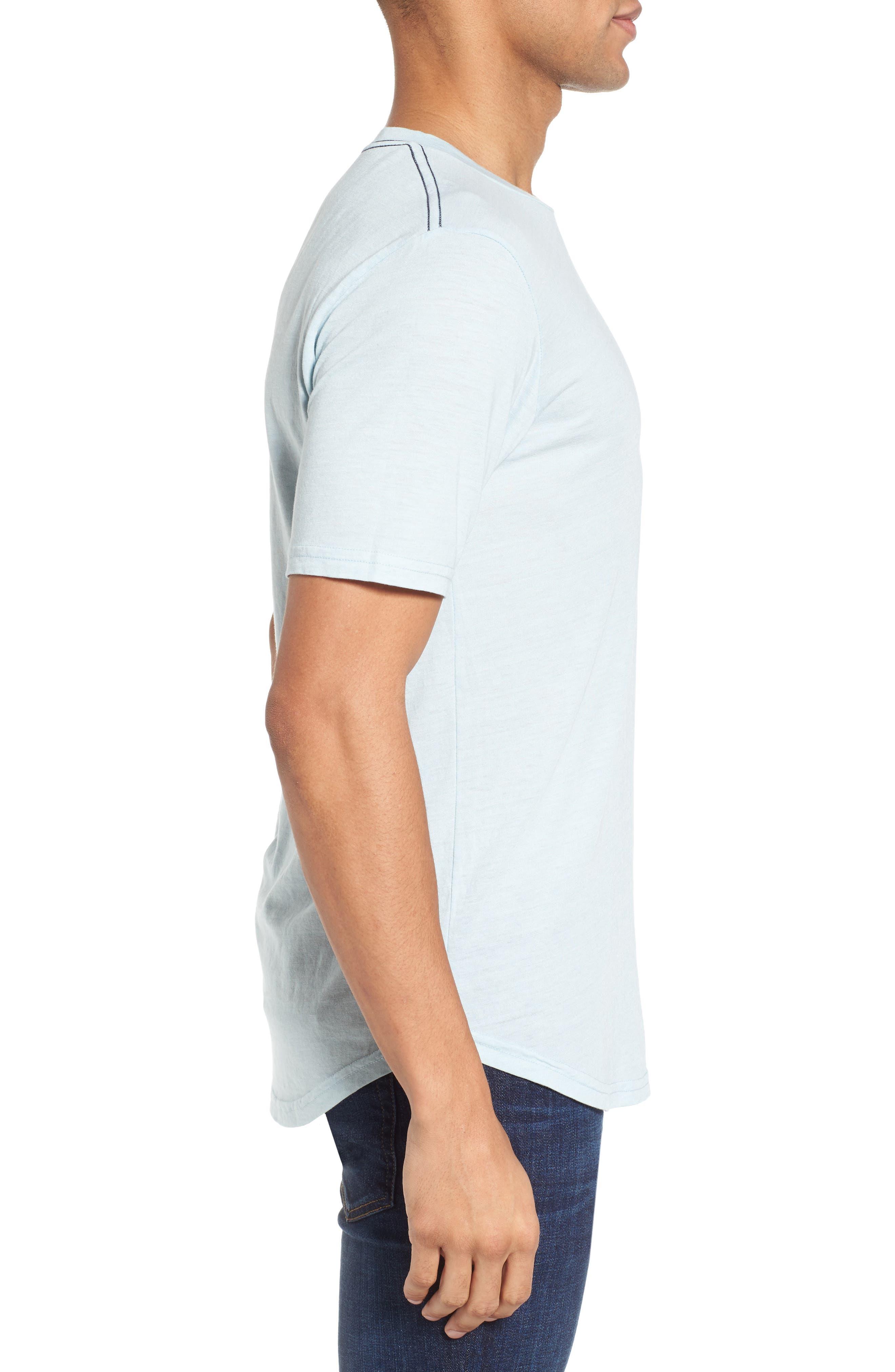 Scallop Triblend Crewneck T-Shirt,                             Alternate thumbnail 54, color,