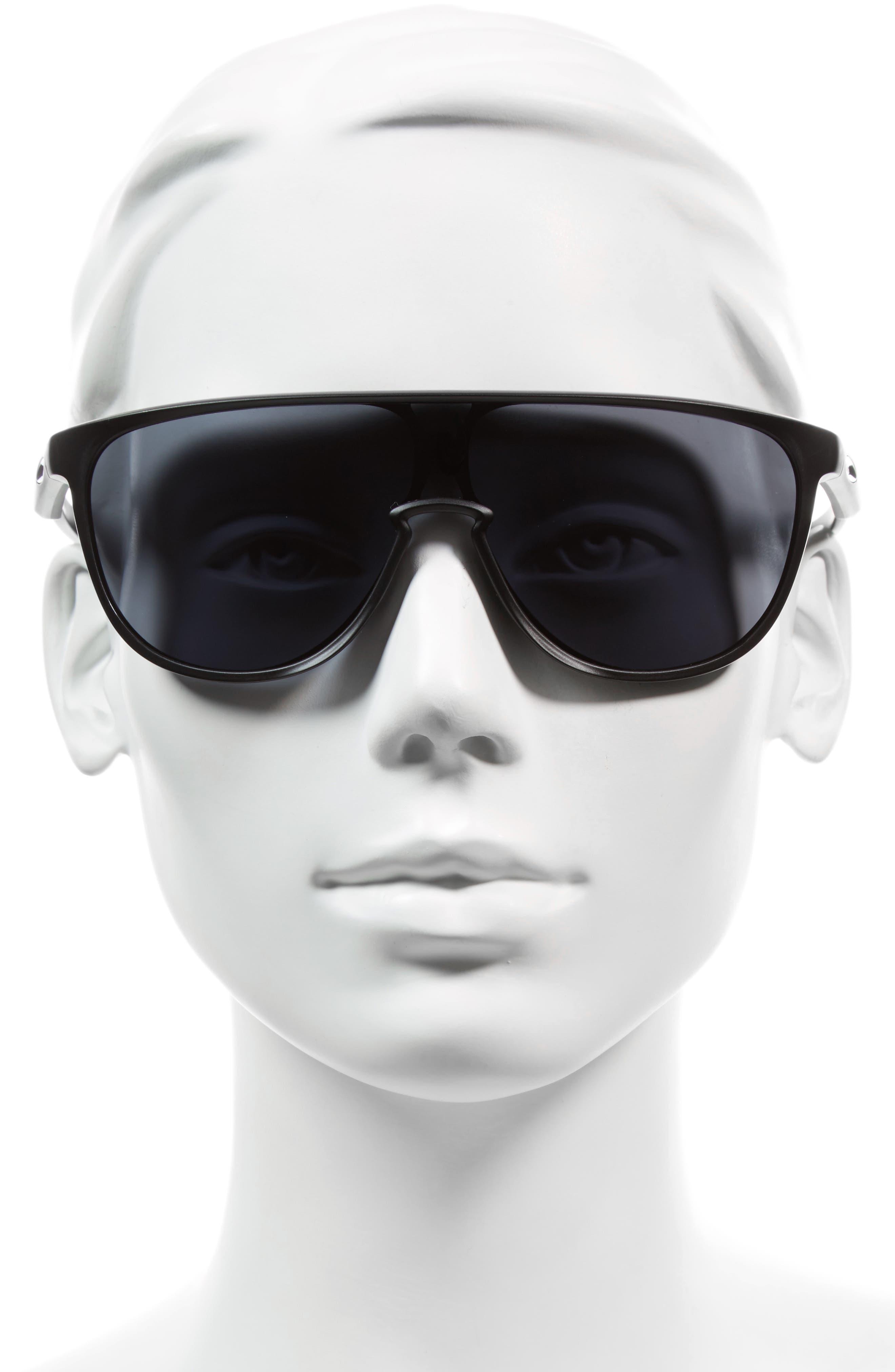 Trillbe 140mm Shield Sunglasses,                             Alternate thumbnail 2, color,                             001