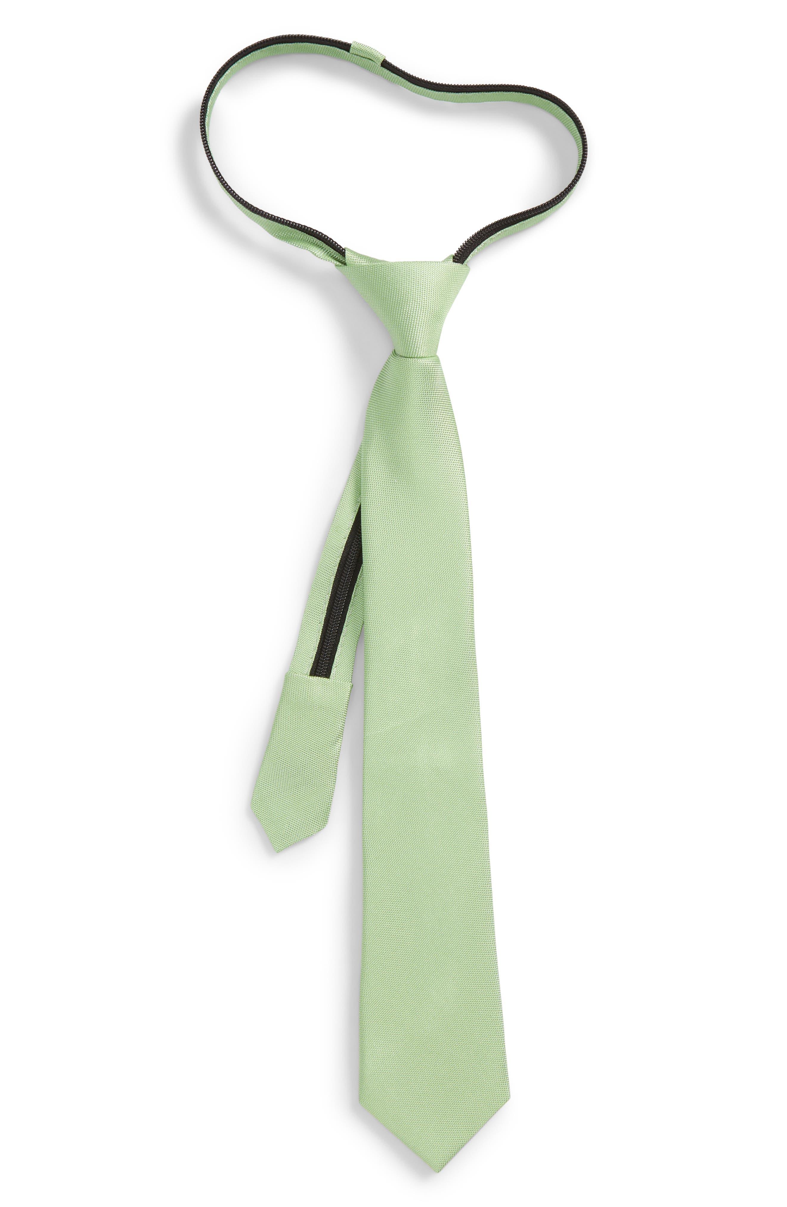 Natte Silk Zip Tie,                             Main thumbnail 1, color,                             300