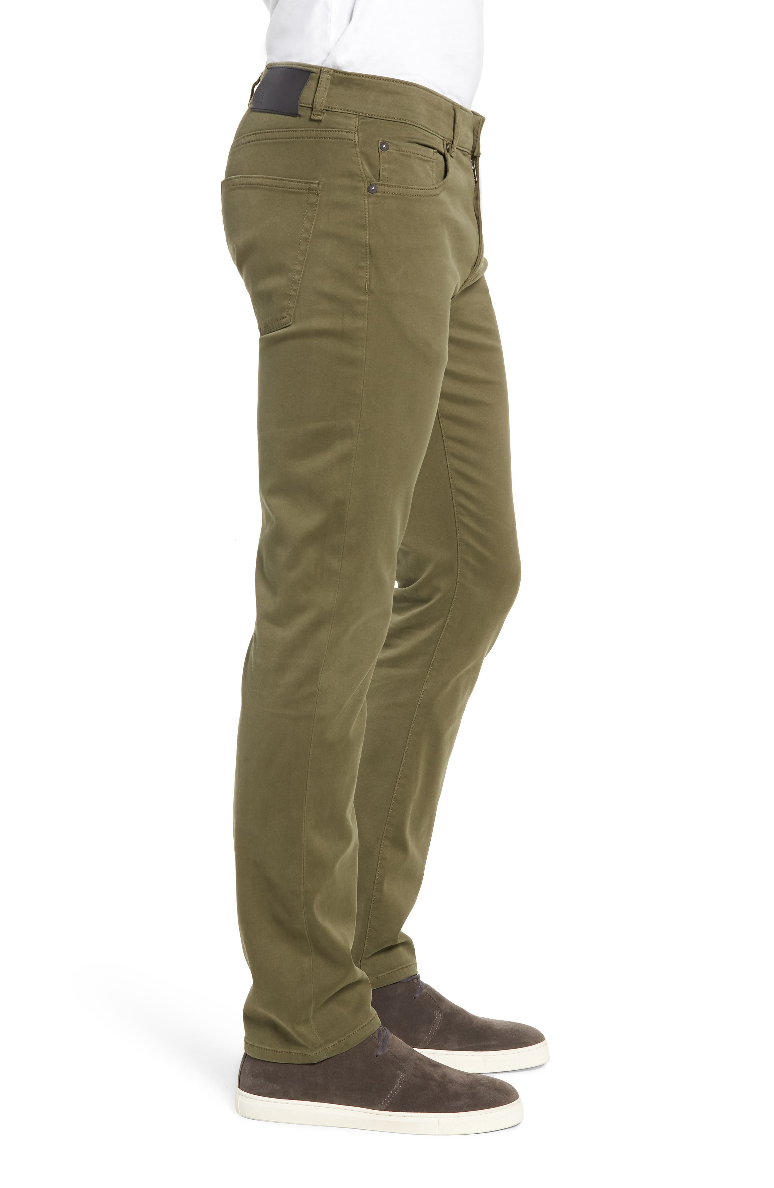 Russell Slim Fit Sateen Twill Pants,                             Alternate thumbnail 23, color,