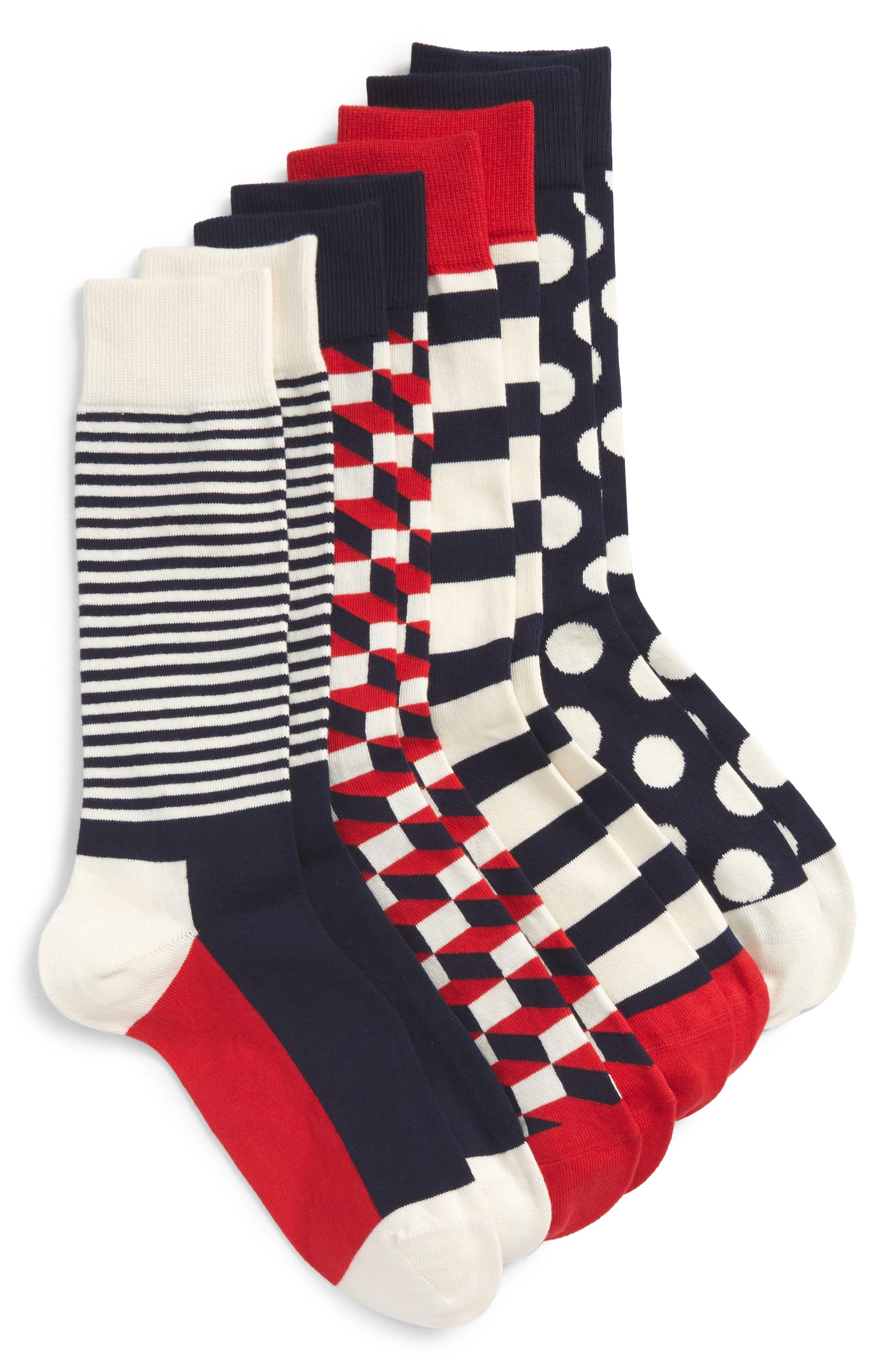 4-Pack Sock Gift Set,                         Main,                         color,