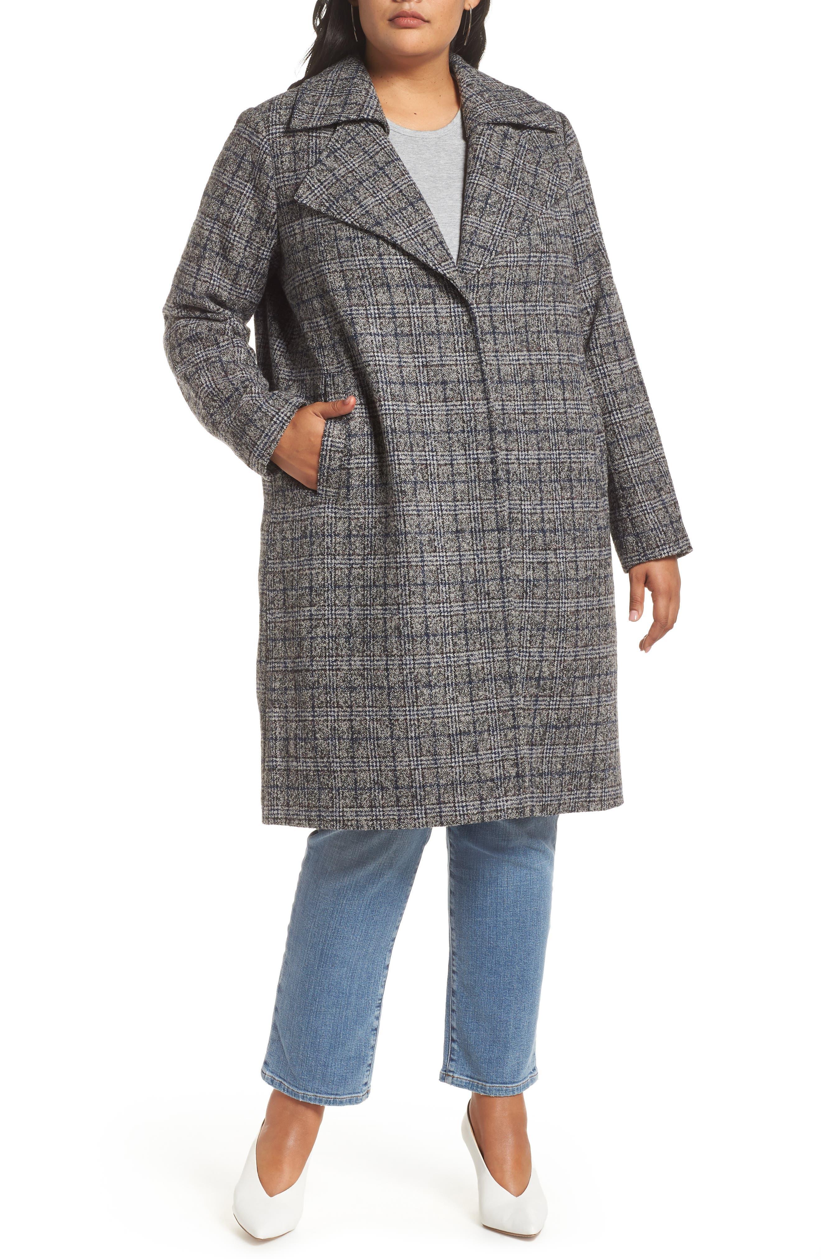 Double Fold Collar Coat,                             Alternate thumbnail 4, color,                             450