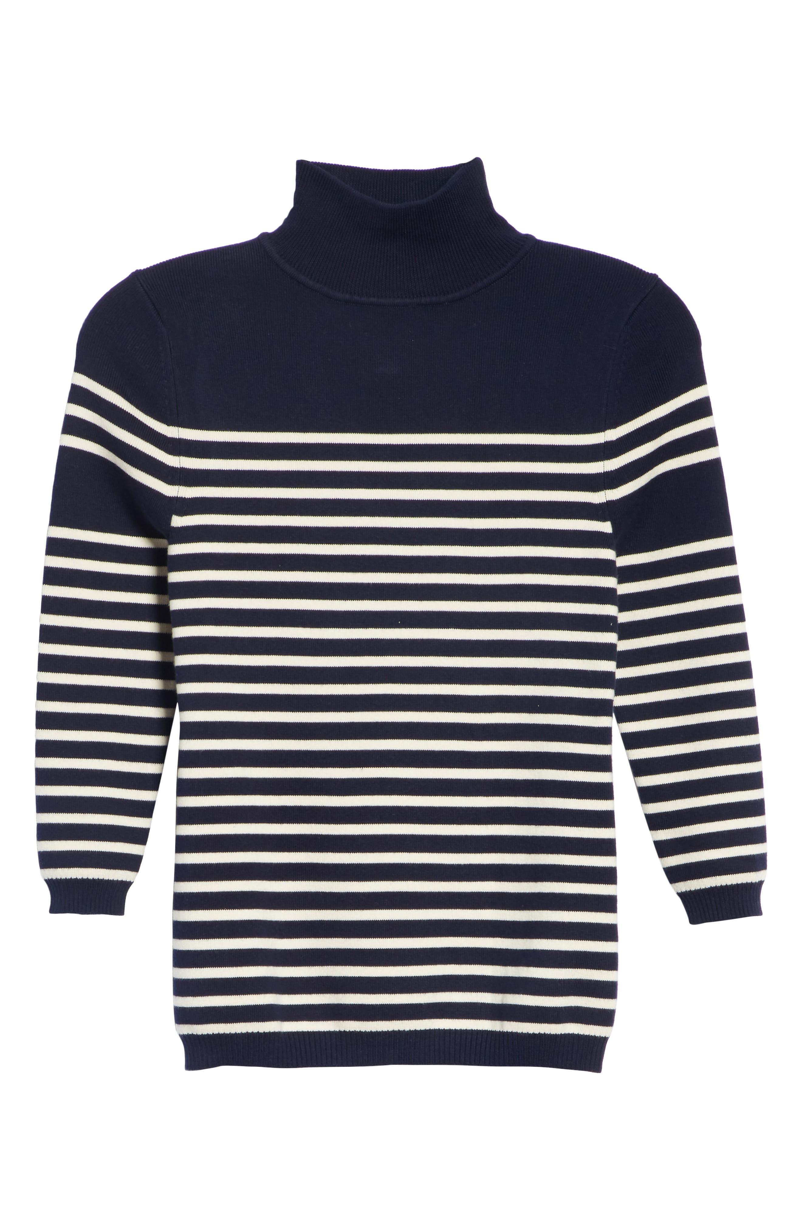 Classique Stripe Sweater,                             Alternate thumbnail 6, color,                             401