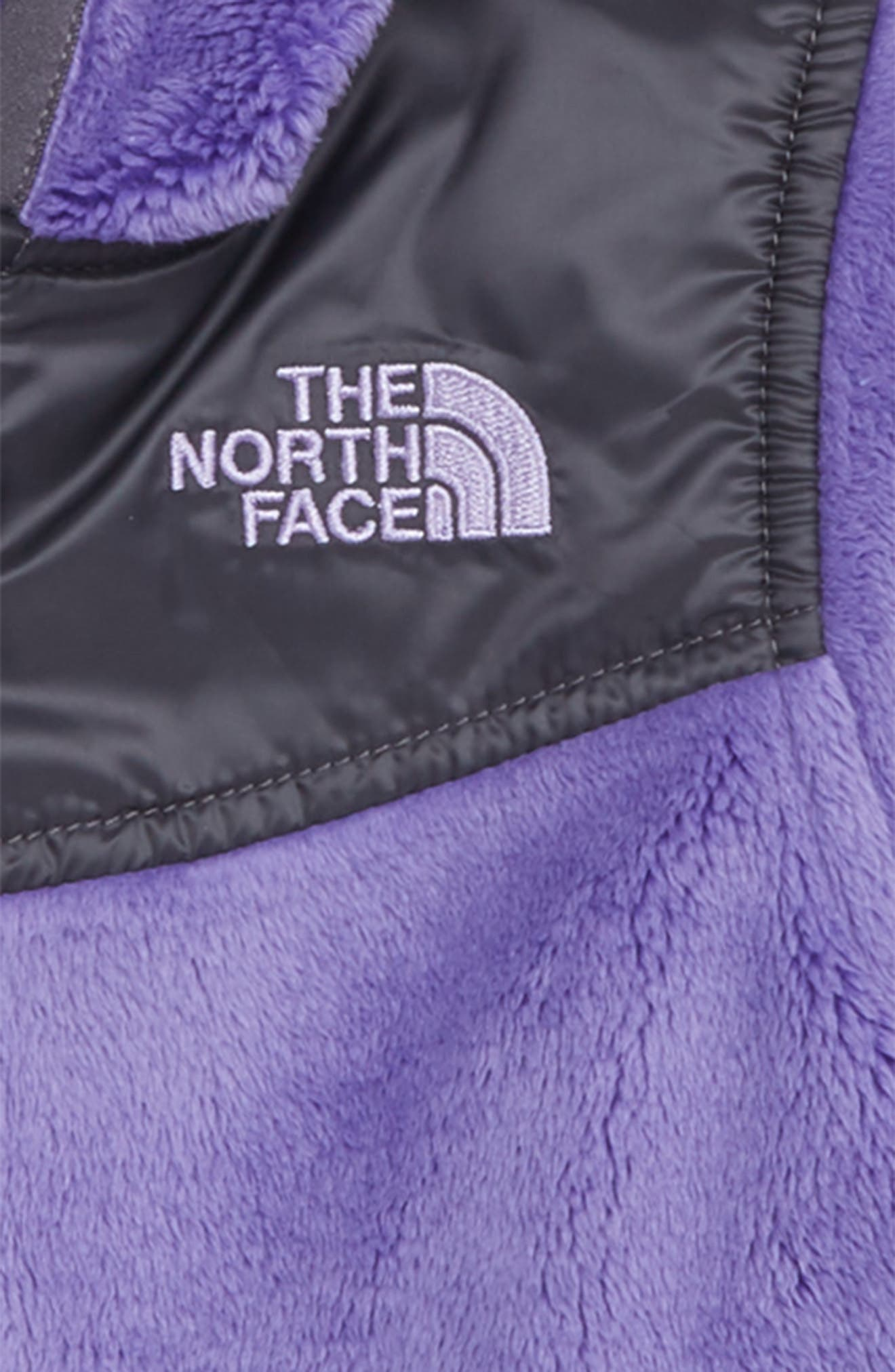 Oso Zip Fleece Hoodie,                             Alternate thumbnail 2, color,                             DAHLIA PURPLE