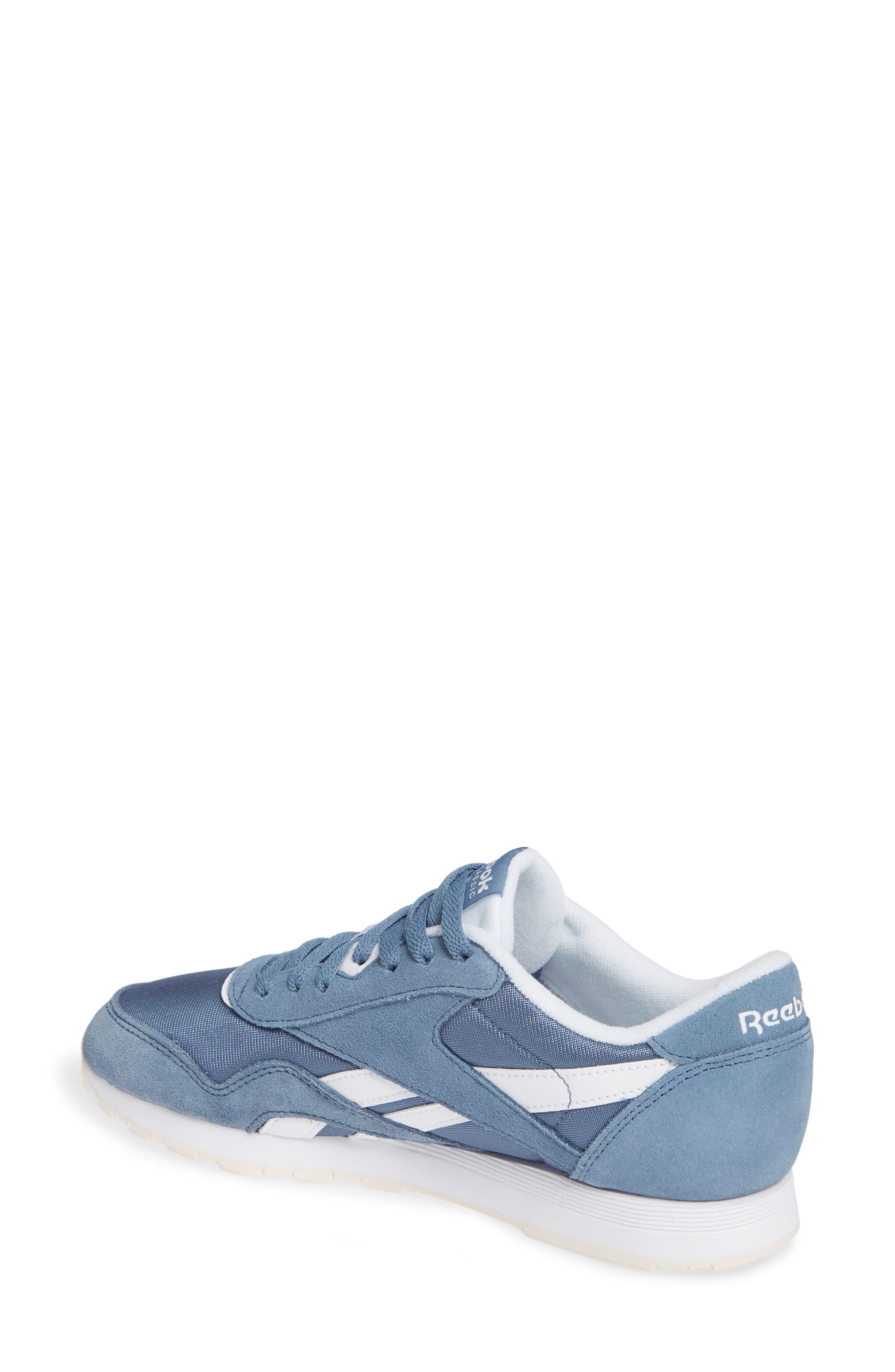 Classic Sneaker,                             Alternate thumbnail 2, color,                             BLUE SLATE/ WHITE/ CHALK