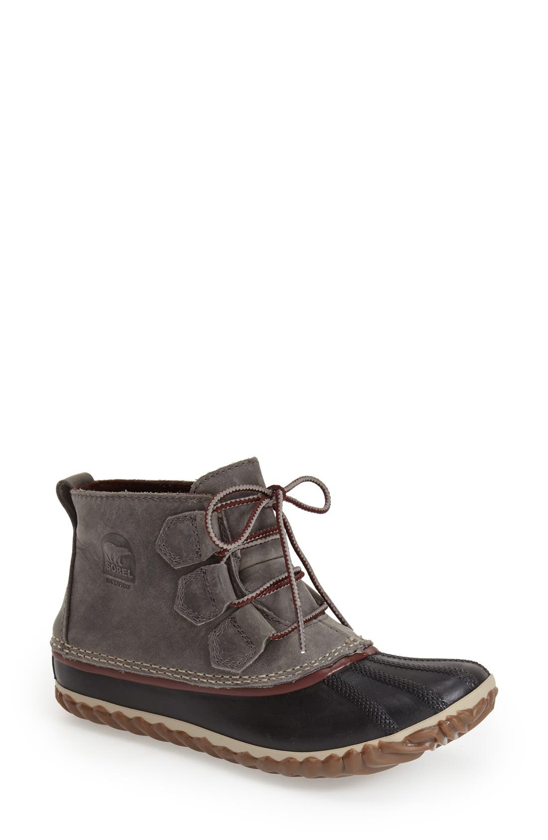 'Out N About' Leather Boot,                             Main thumbnail 7, color,