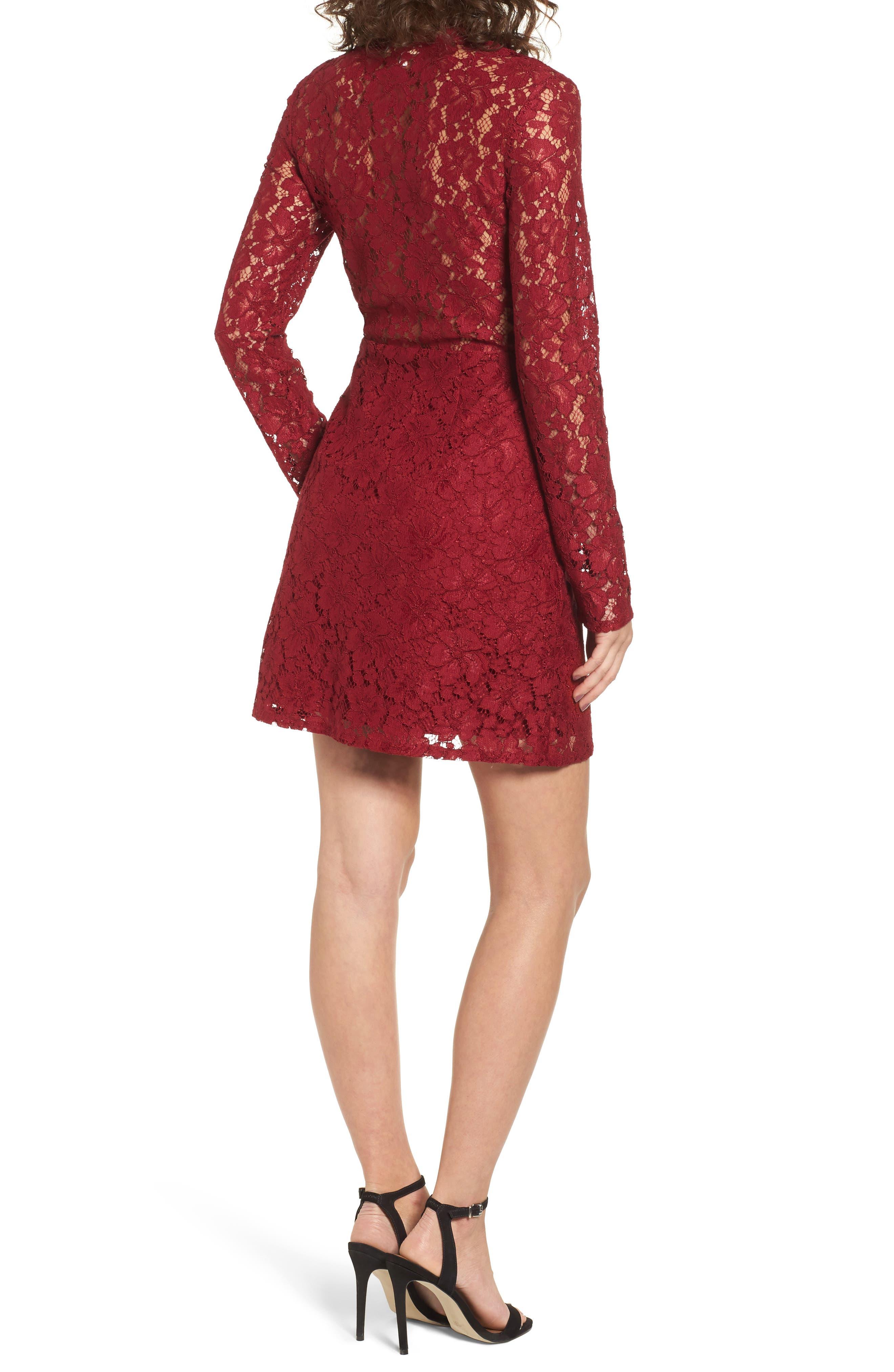 Say It Out Loud Lace Dress,                             Alternate thumbnail 6, color,