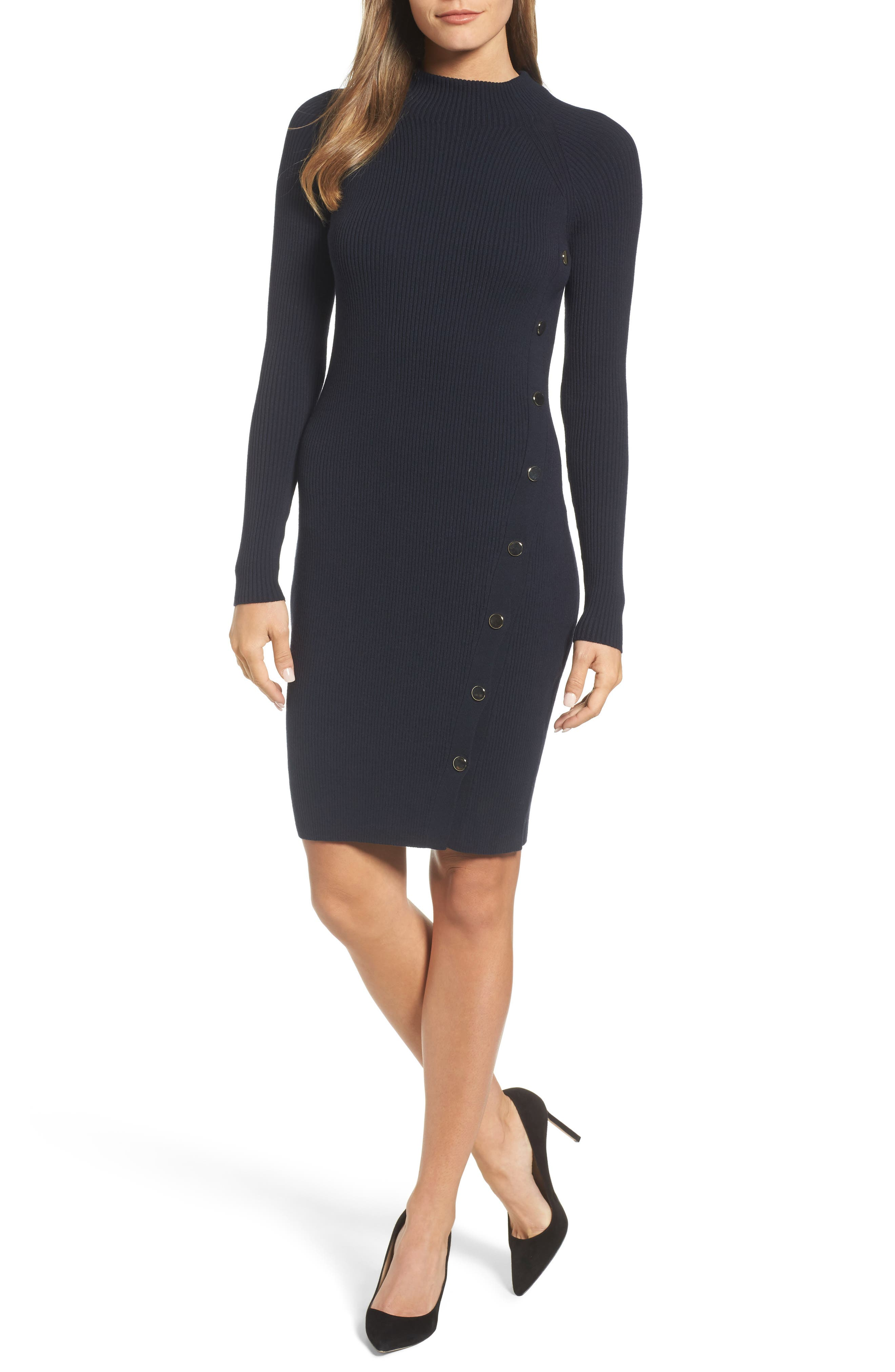Farengi Sweater Dress,                             Main thumbnail 1, color,                             480