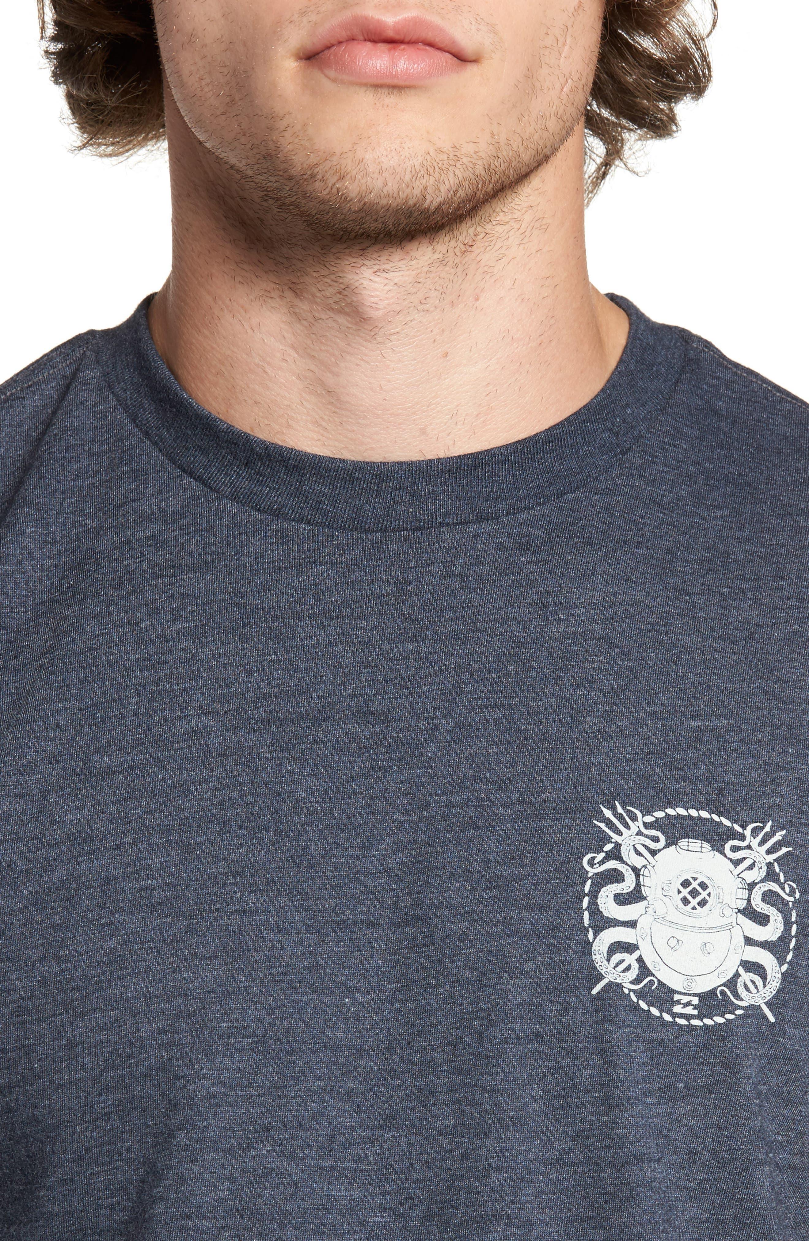 Diver Graphic T-Shirt,                             Alternate thumbnail 4, color,                             412