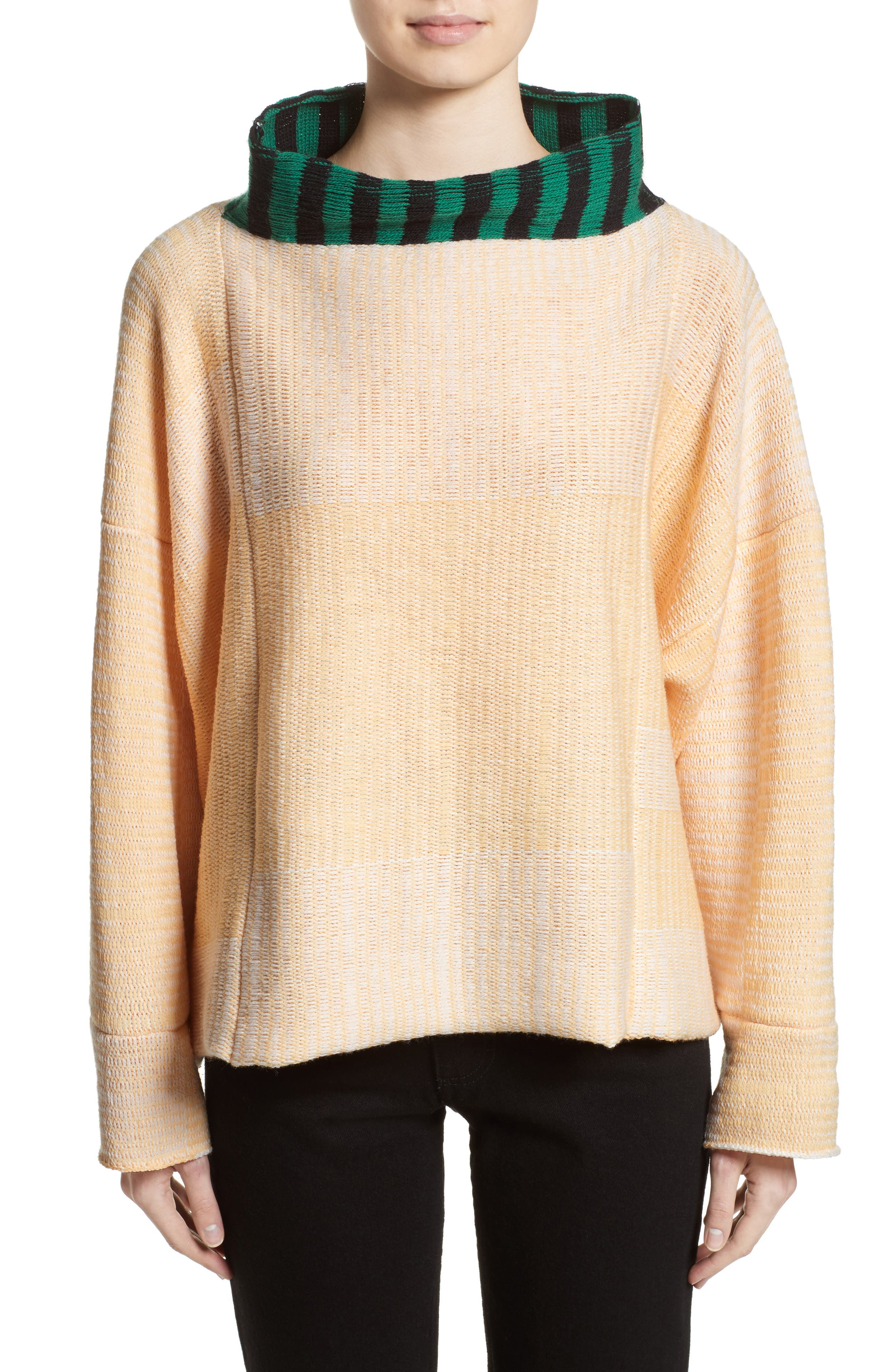 Vented Dolman Sweater,                             Main thumbnail 1, color,                             700