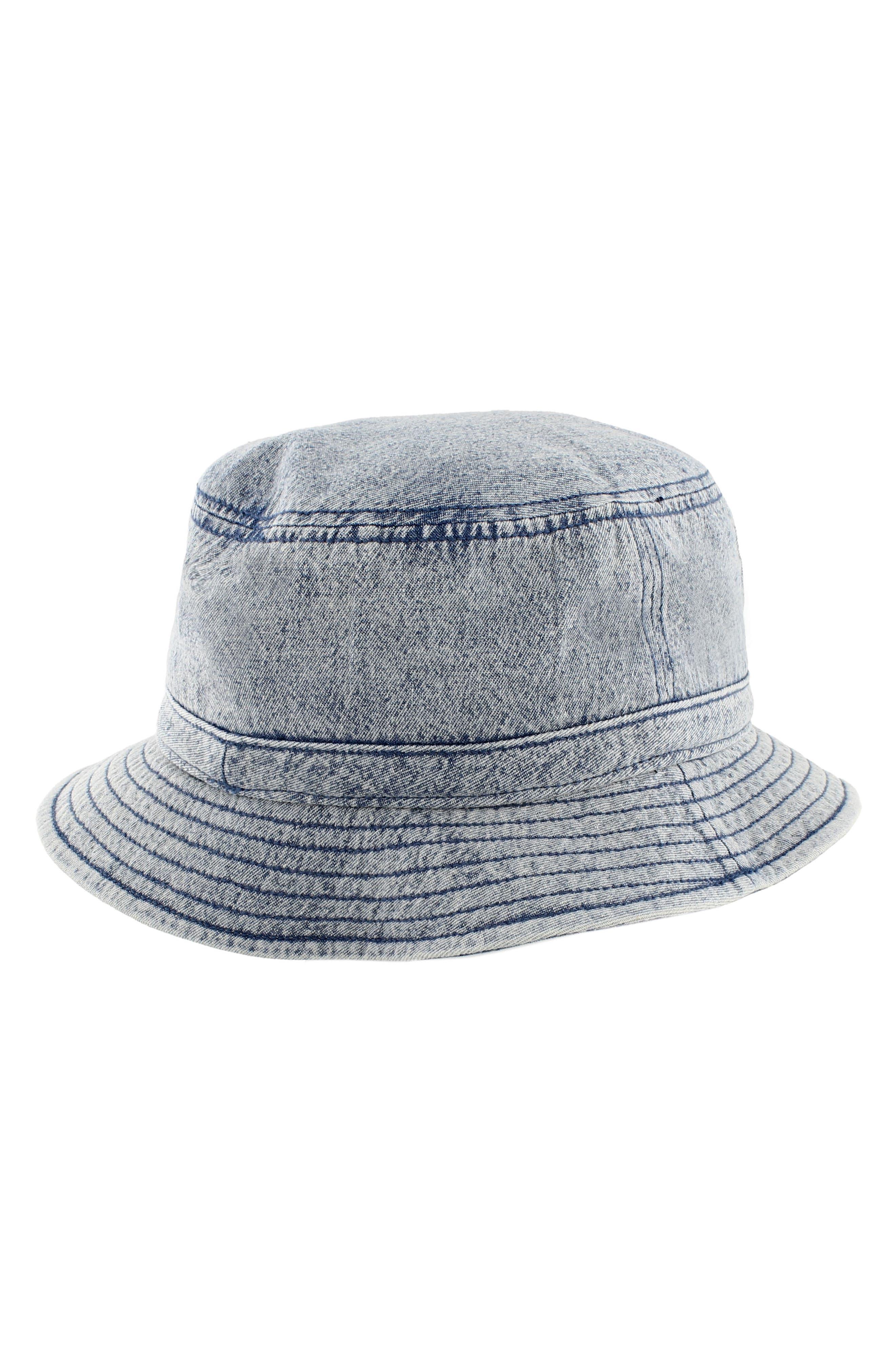 Denim Bucket Hat,                             Alternate thumbnail 2, color,                             420