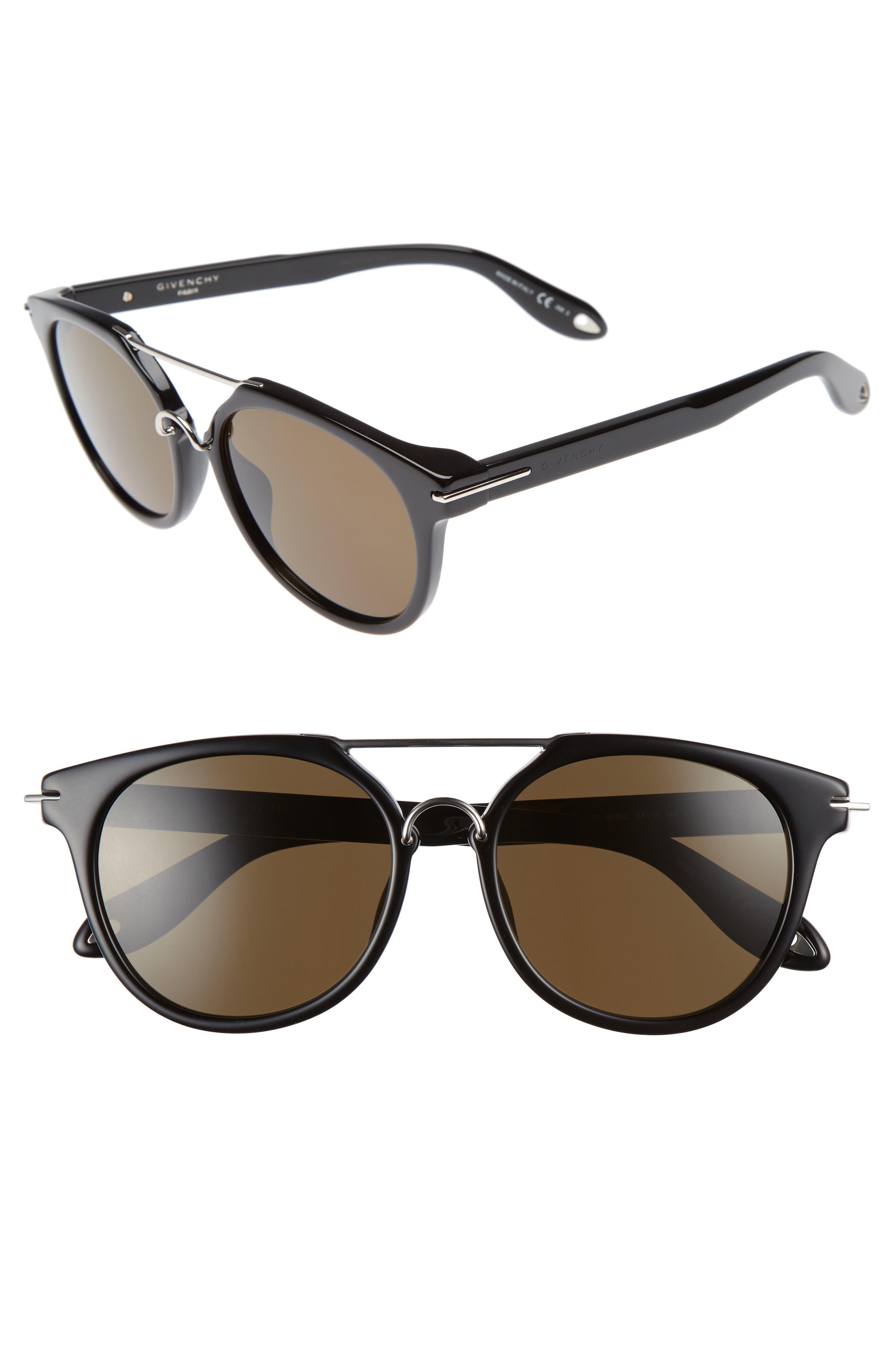 54mm Sunglasses,                         Main,                         color, 001