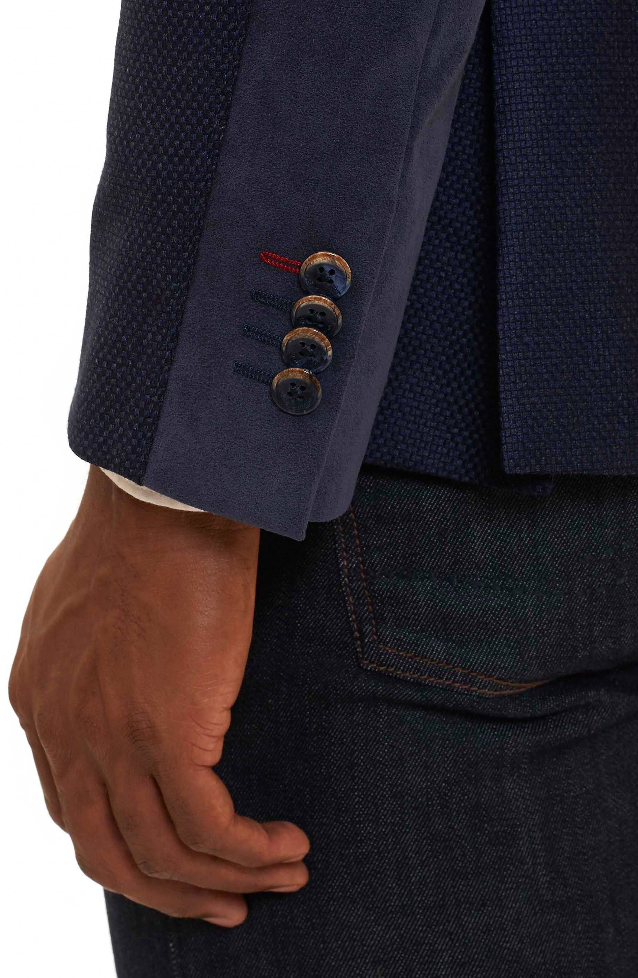 Downhill Sport Coat with Removable Bib,                             Alternate thumbnail 4, color,
