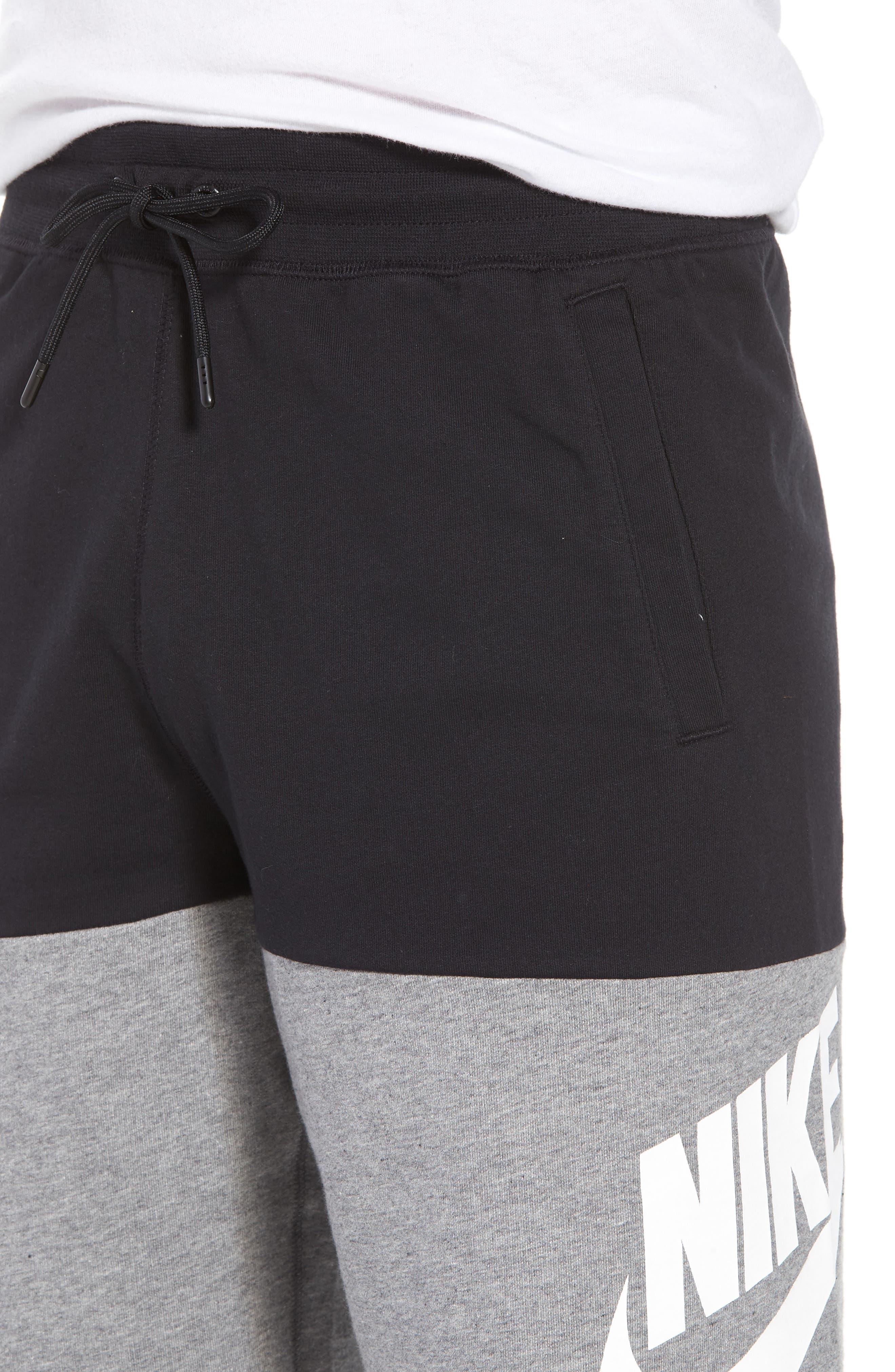 NSW Franchise GX3 Shorts,                             Alternate thumbnail 4, color,                             BLACK/ CARBON HEATHER/ WHITE