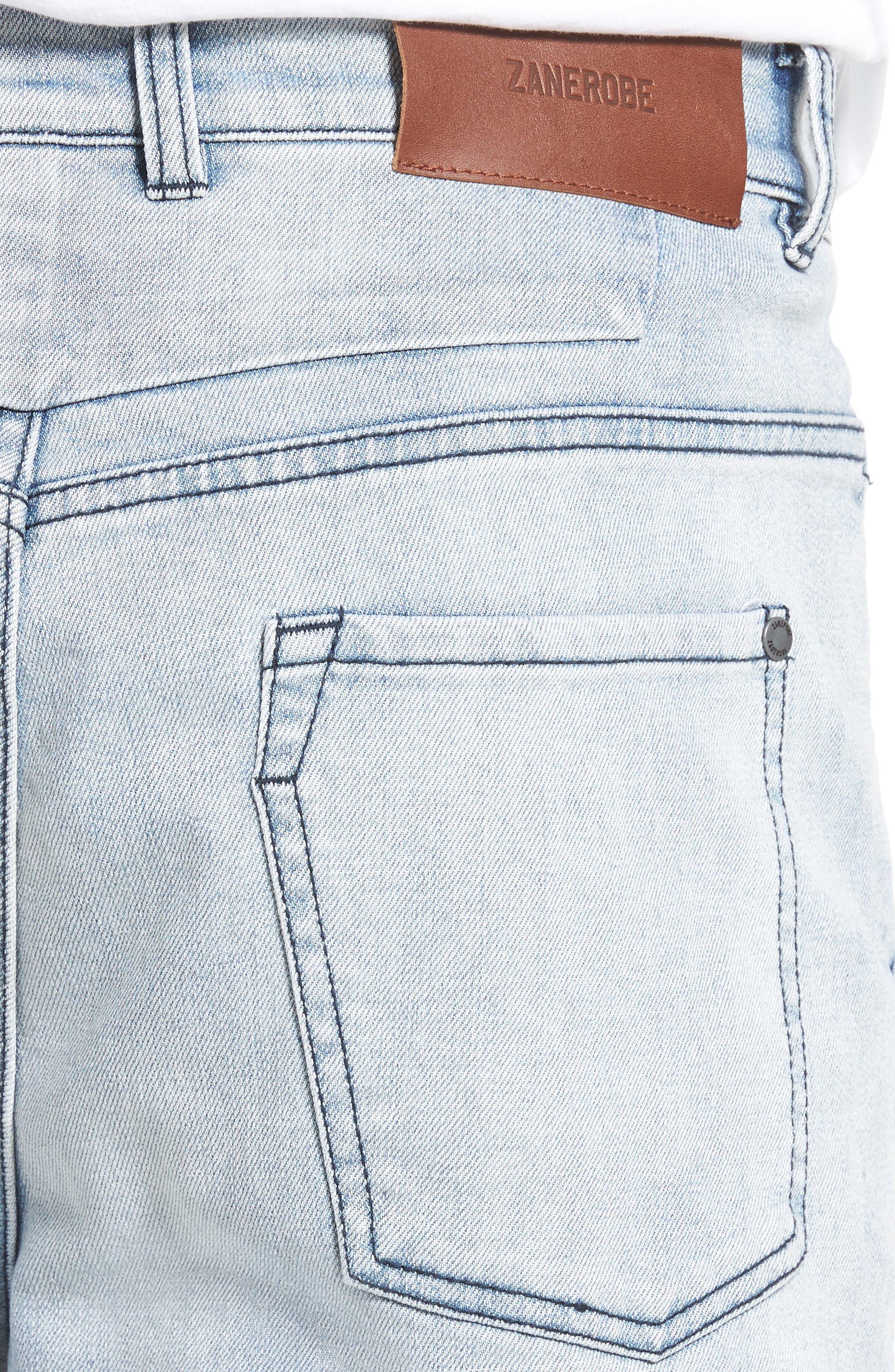 Sharpshot Slouchy Skinny Fit Denim Pants,                             Alternate thumbnail 8, color,
