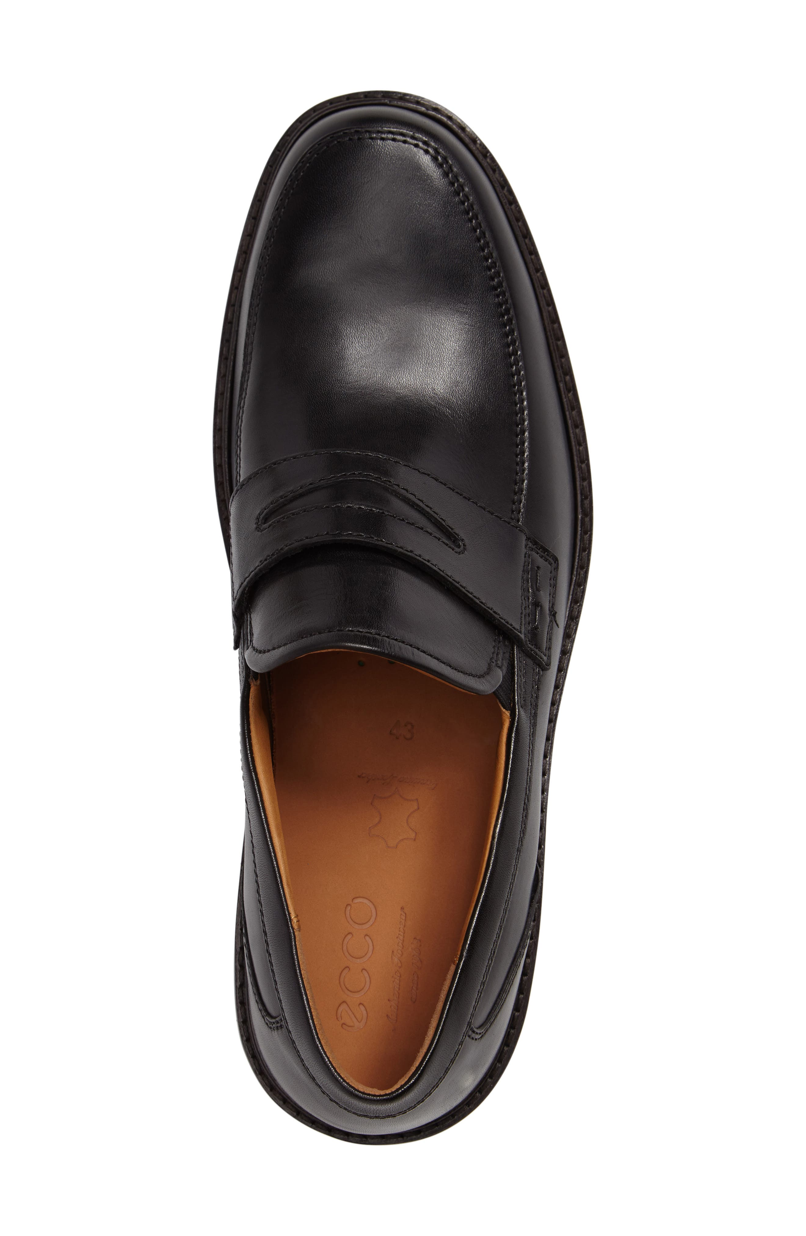 Holton Penny Loafer,                             Alternate thumbnail 3, color,                             001