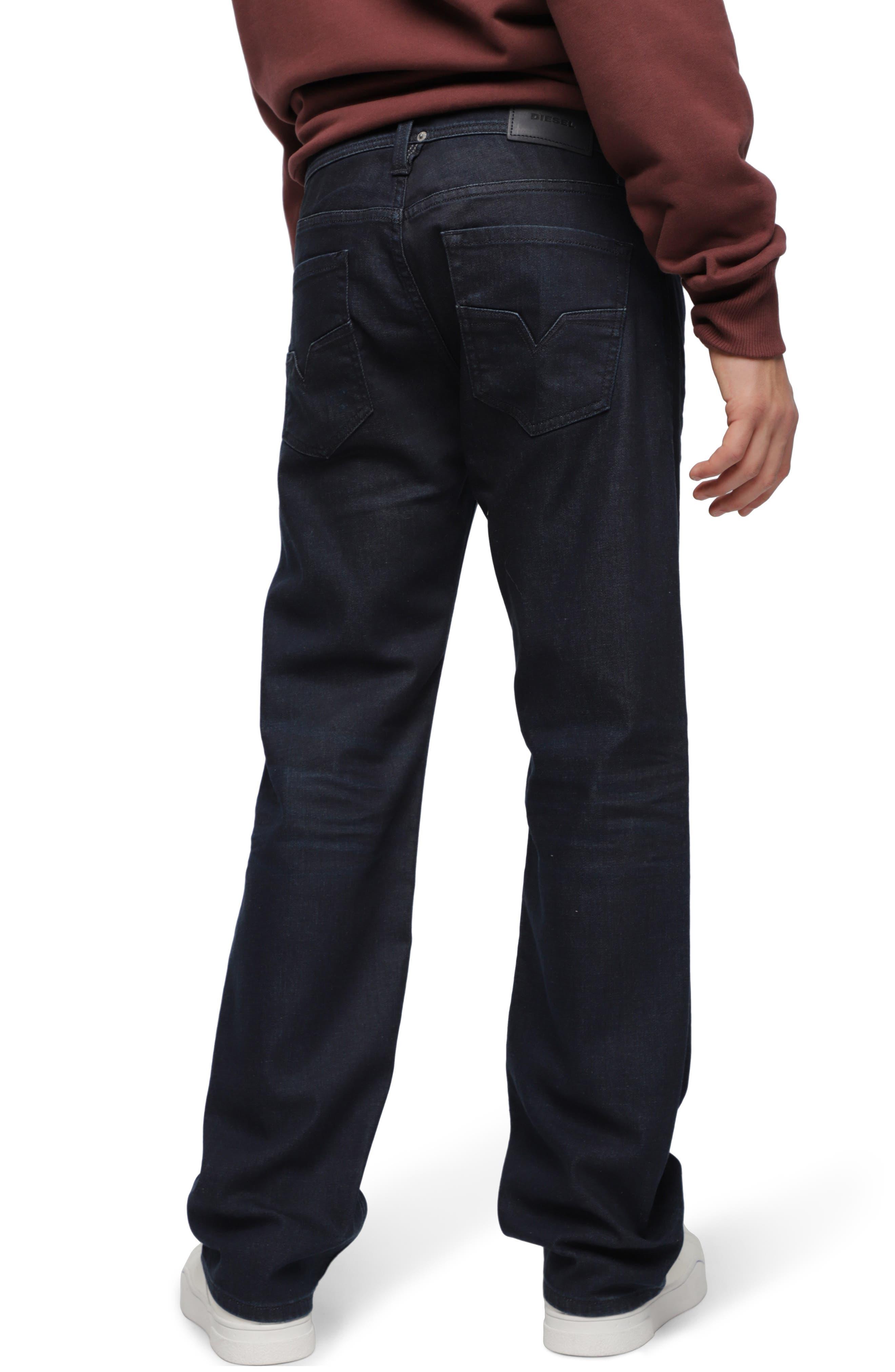 Larkee Relaxed Straight Leg Jeans,                             Alternate thumbnail 2, color,                             C84ZC