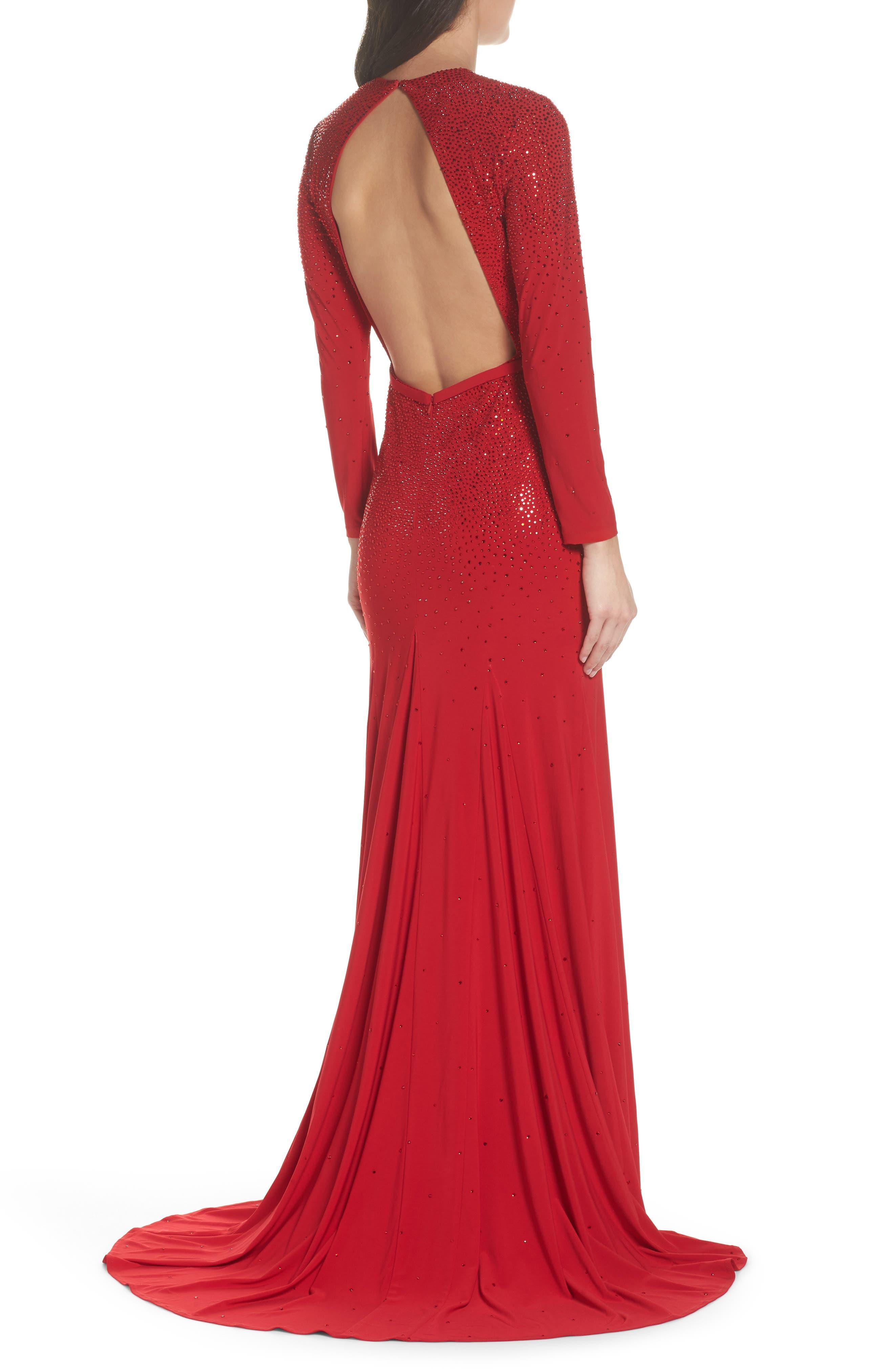 Off the Shoulder Fit & Flare Dress,                             Alternate thumbnail 2, color,                             600