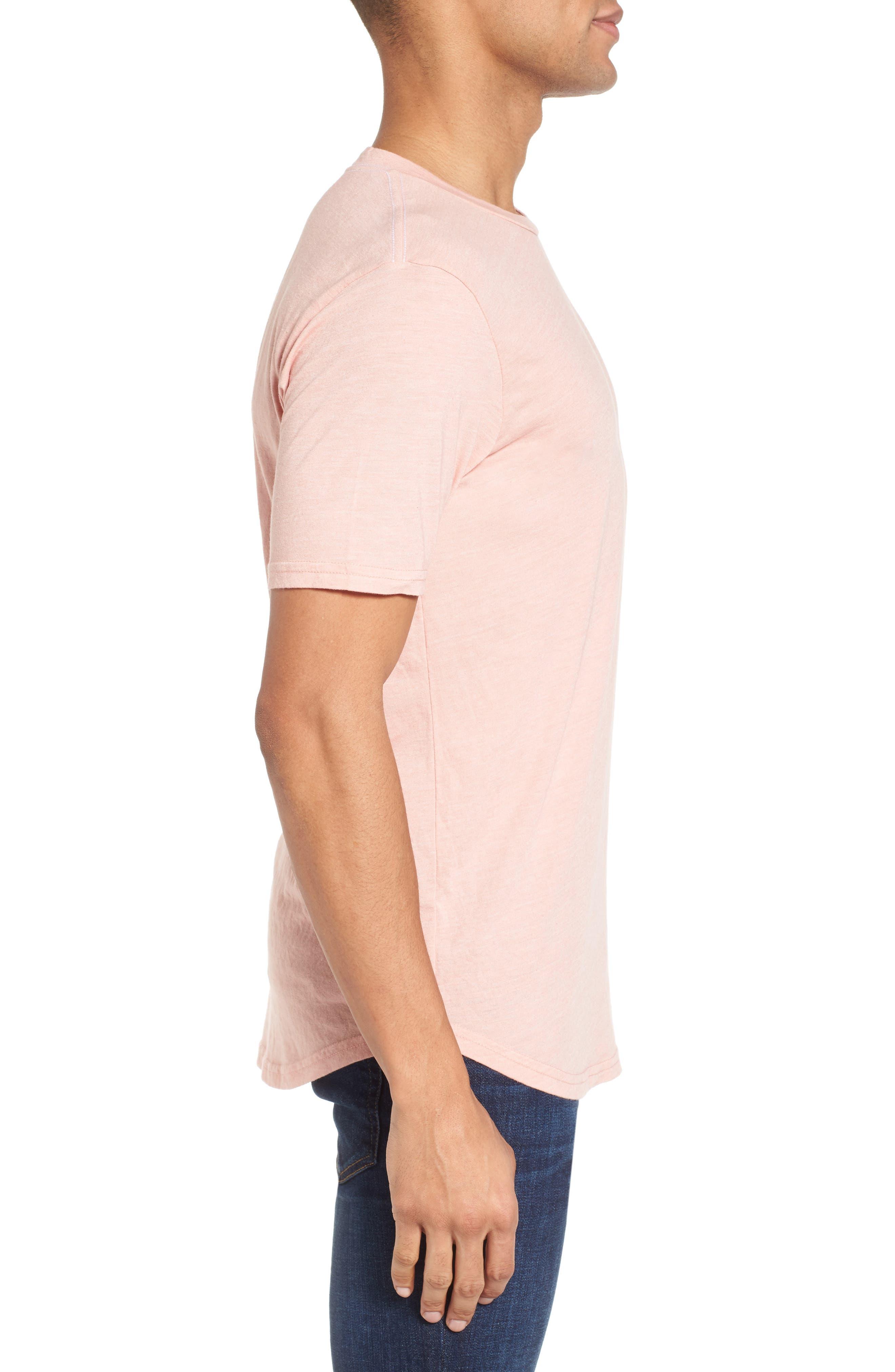 Scallop Triblend Crewneck T-Shirt,                             Alternate thumbnail 58, color,