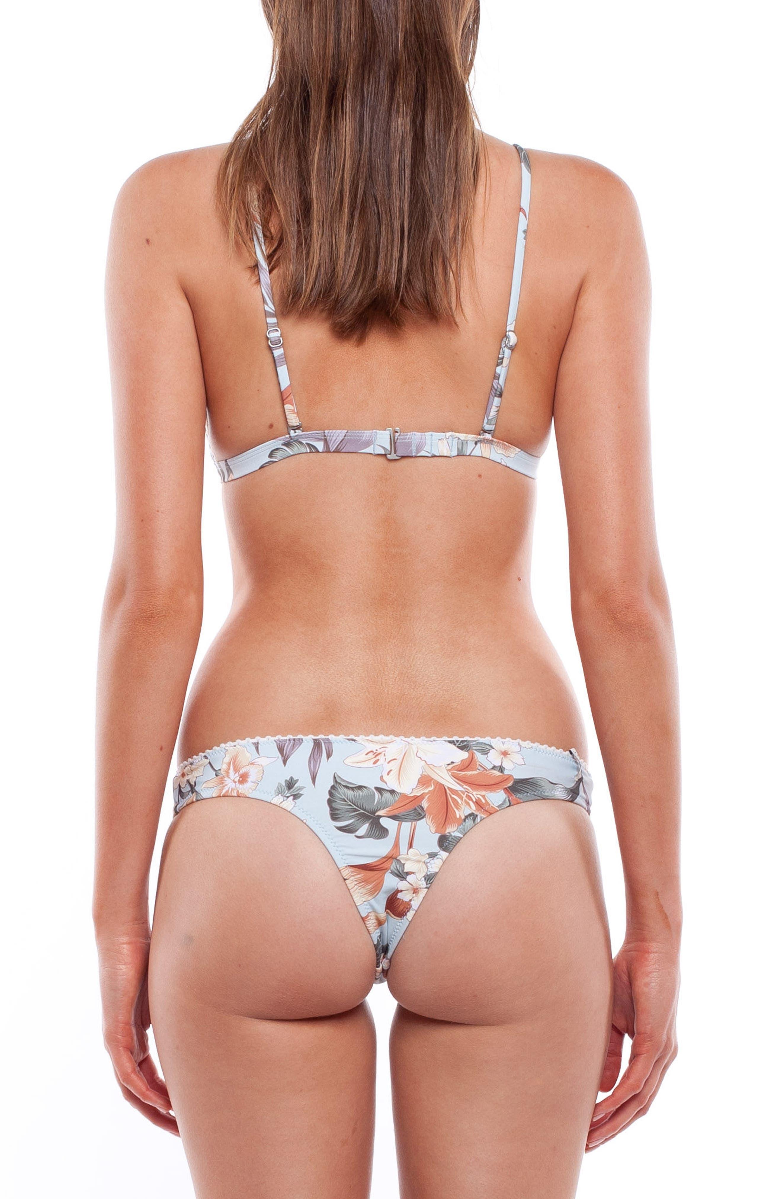 Leilani Triangle Bikini Top,                             Alternate thumbnail 5, color,