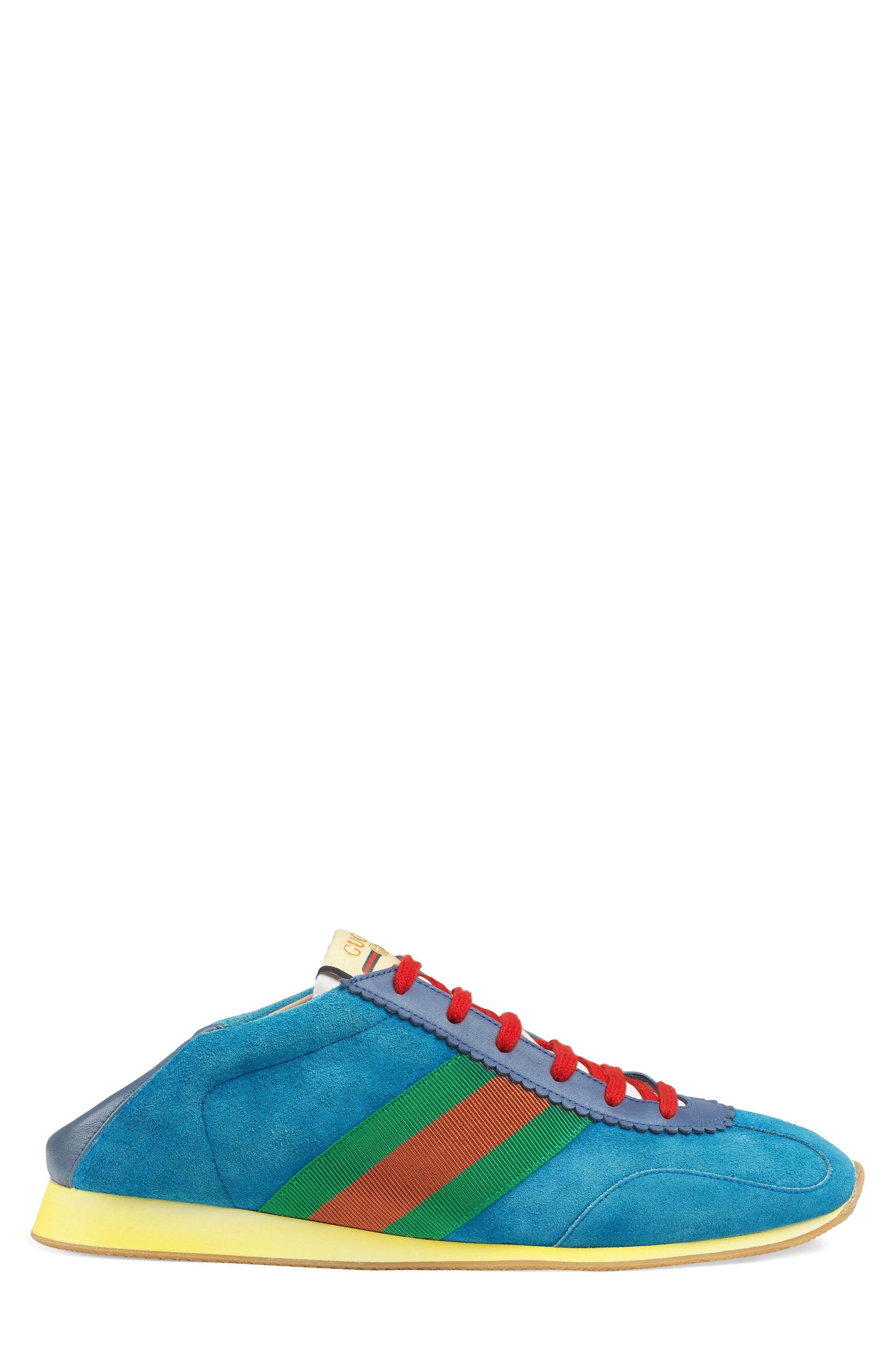 Rocket Collapsible Sneaker,                             Alternate thumbnail 3, color,                             BLUE/ INK