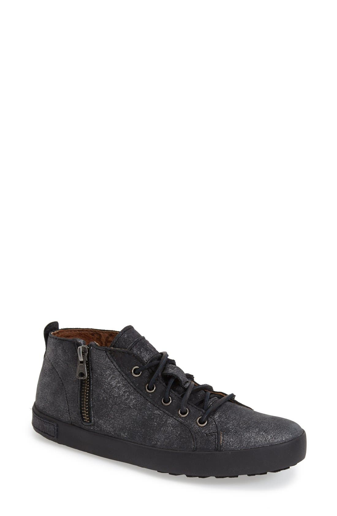 BLACKSTONE,                             'JL17' Sneaker,                             Main thumbnail 1, color,                             BLACK METALLIC