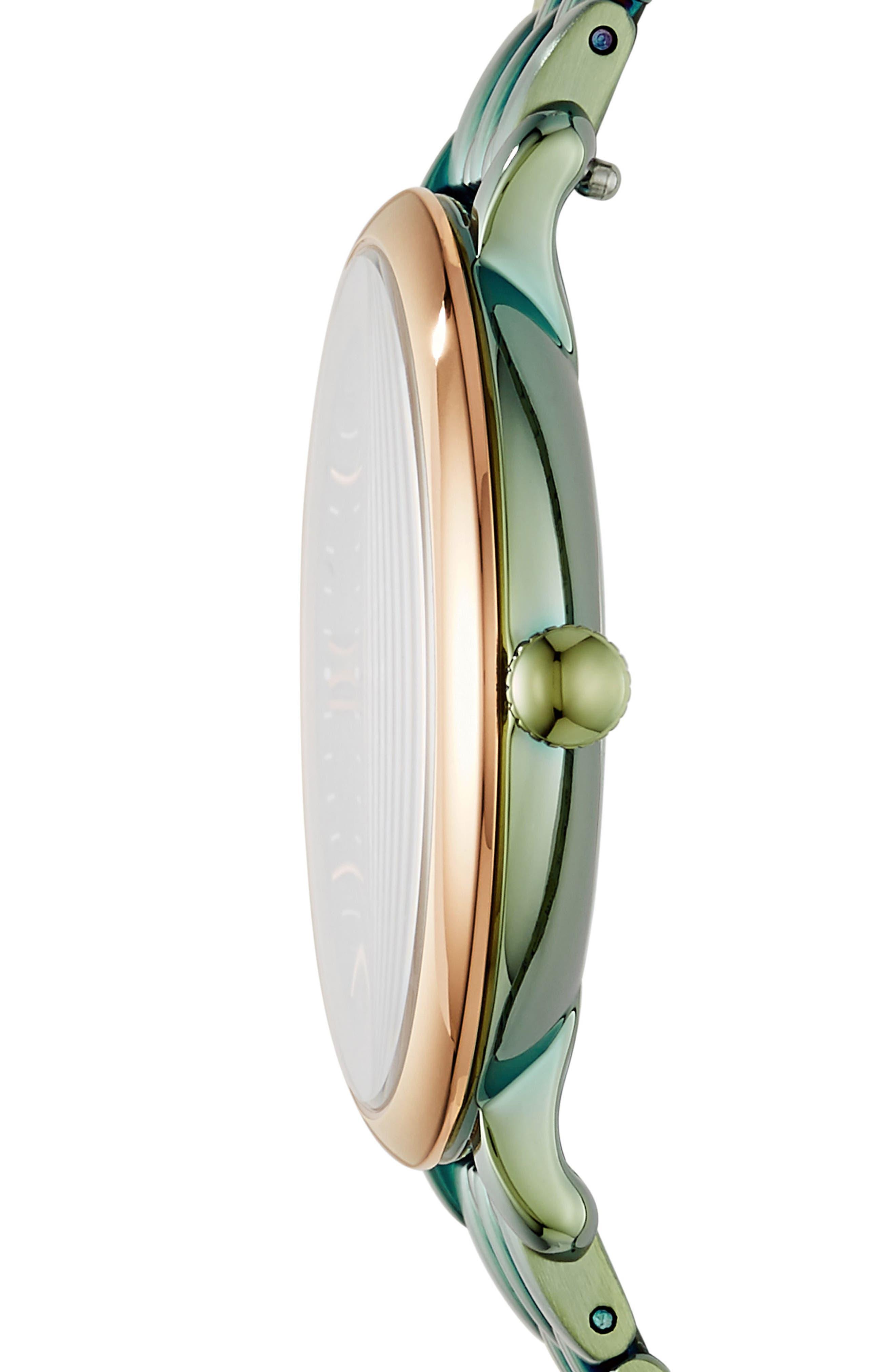 Jacqueline Bracelet Watch, 36mm,                             Alternate thumbnail 3, color,