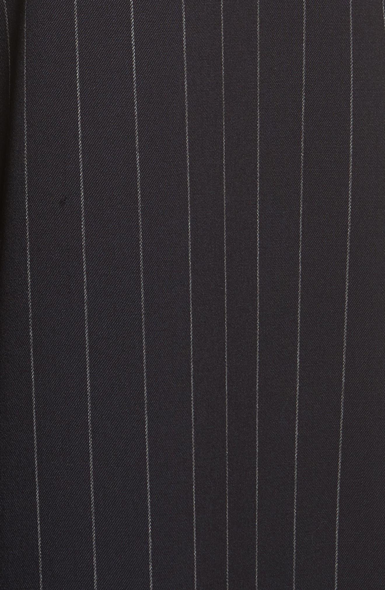 Diane Kruger x GREY Jason Wu Pinstripe Palazzo Pants,                             Alternate thumbnail 5, color,                             421