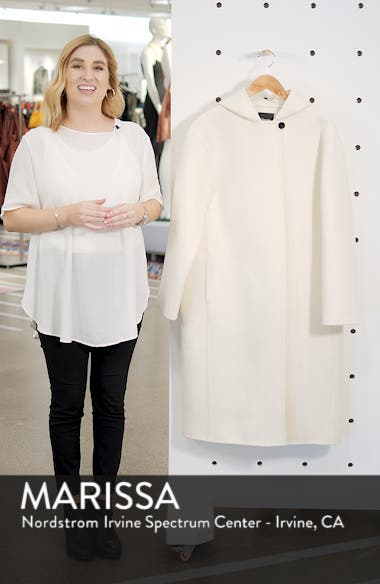 Clean Duffel Wool Blend Coat, sales video thumbnail
