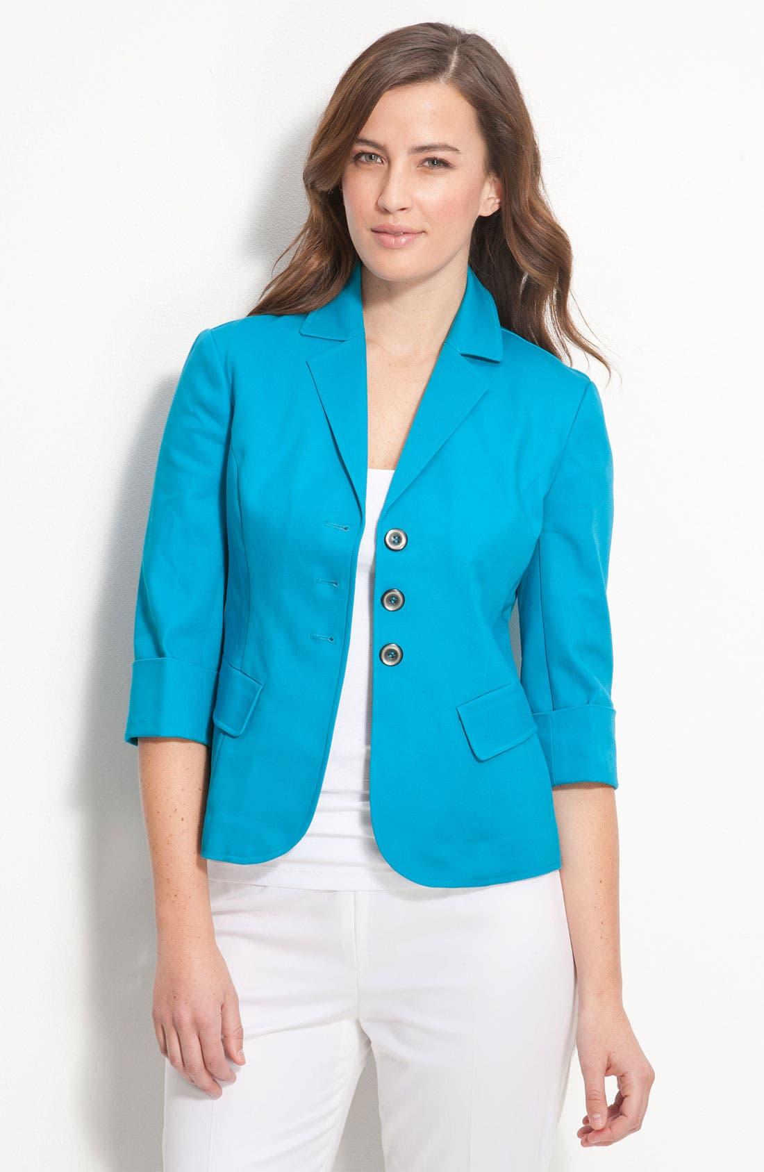 GALLIA MODA,                             Jacket,                             Main thumbnail 1, color,                             420