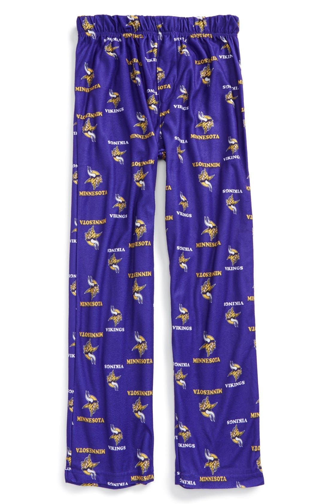 'Minnesota Vikings' Pajama Pants,                             Main thumbnail 1, color,                             500