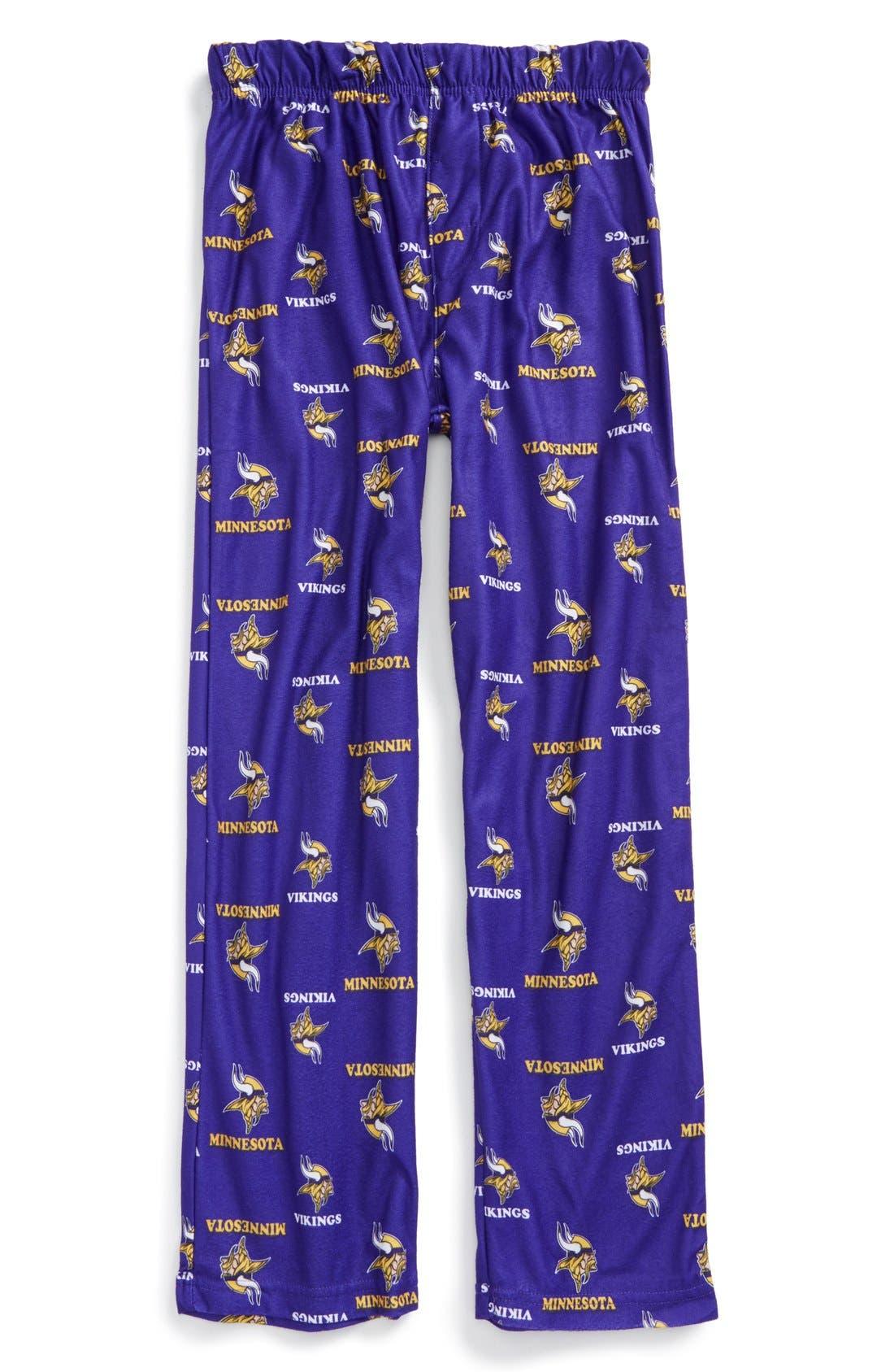 'Minnesota Vikings' Pajama Pants, Main, color, 500