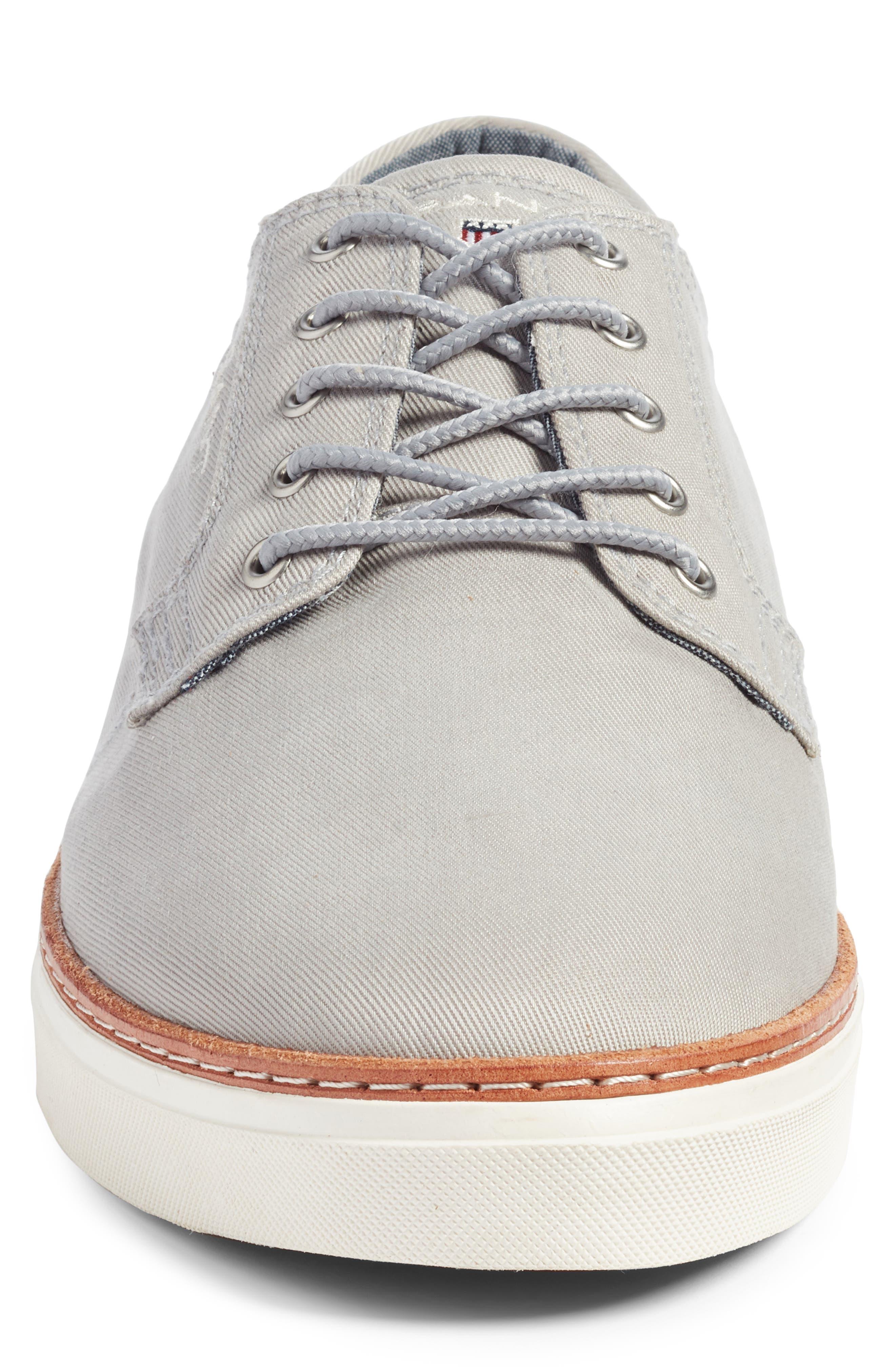 Bari Sneaker,                             Alternate thumbnail 4, color,                             SLEET GRAY