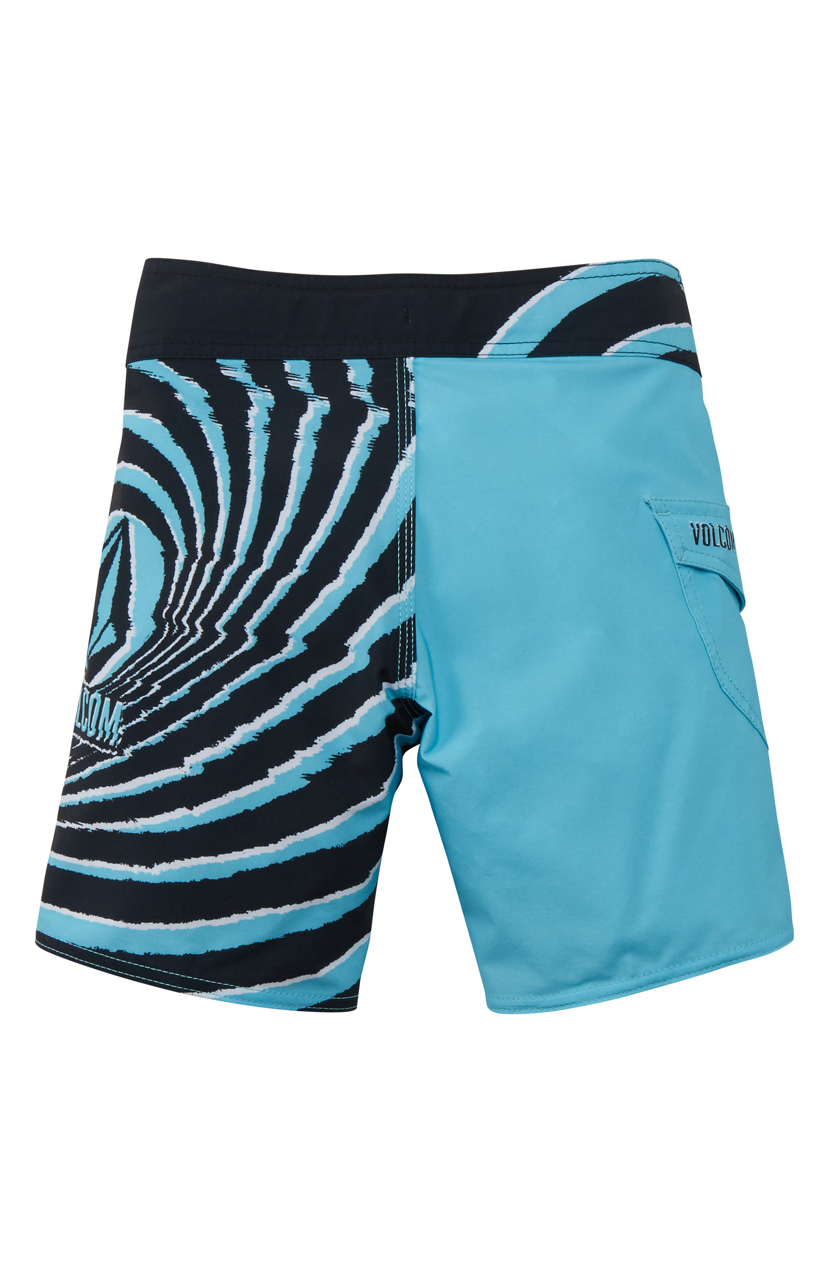 Lido Block Mod Board Shorts,                             Alternate thumbnail 2, color,                             470