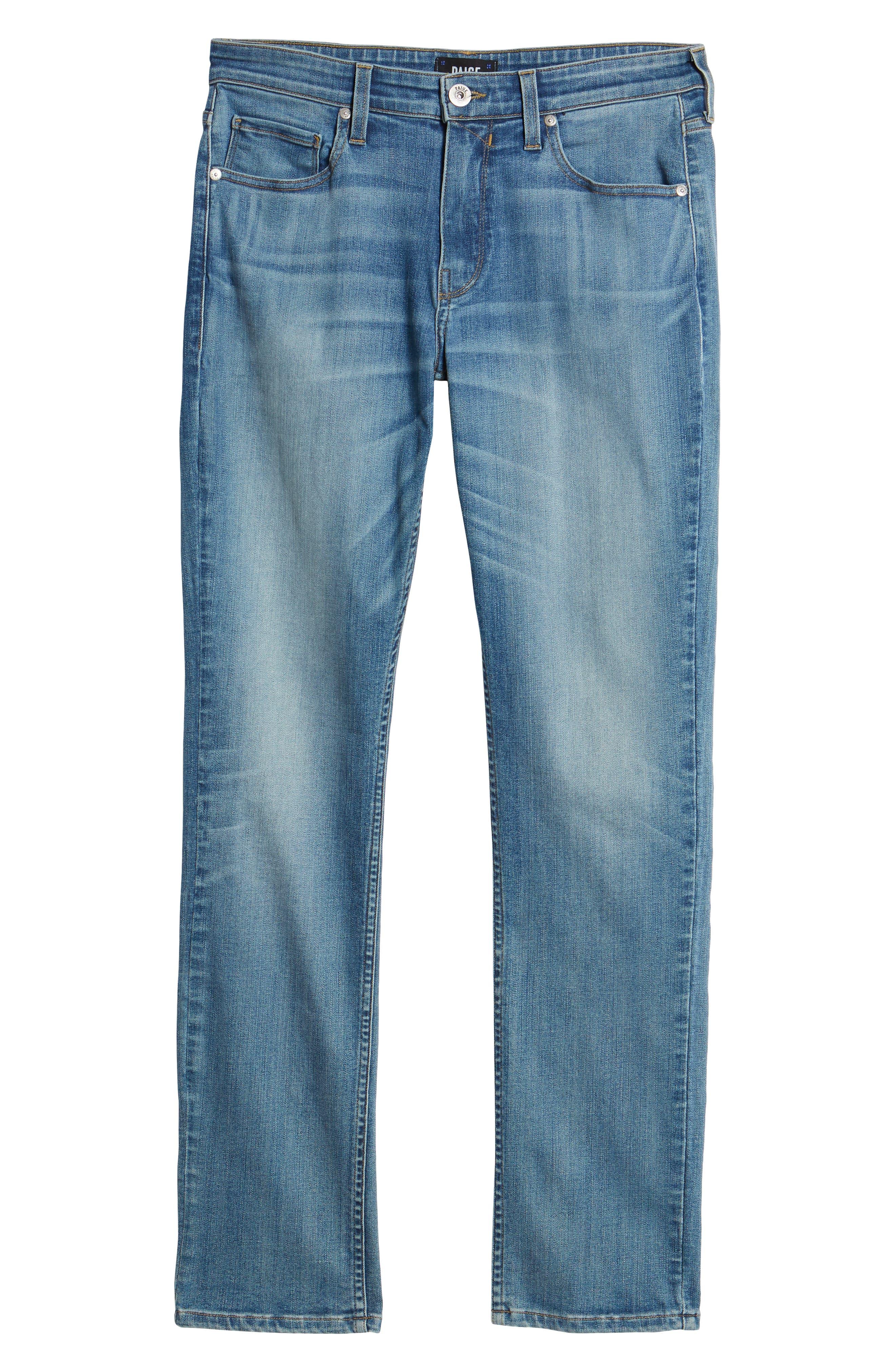 Transcend - Lennox Slim Fit Jeans,                             Alternate thumbnail 6, color,                             CARTWRIGHT