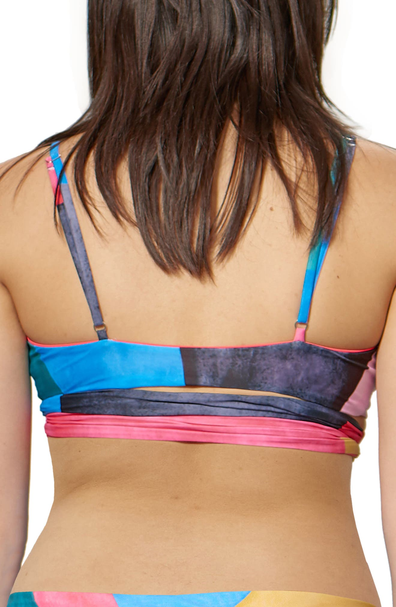 Mila Wrap Bikini Top,                             Alternate thumbnail 2, color,                             400