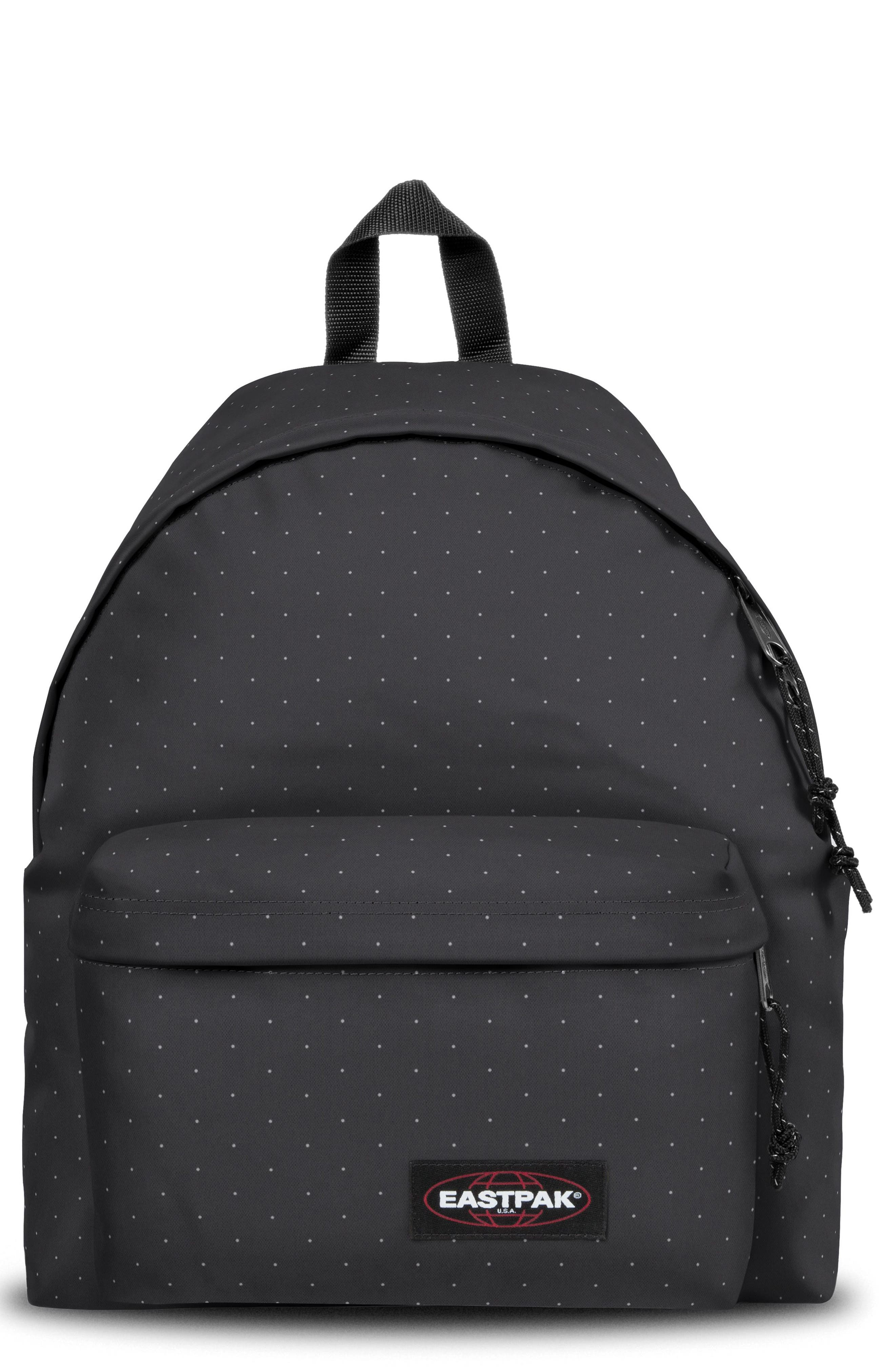 EASTPAK,                             Padded Pak'r<sup>®</sup> Nylon Backpack,                             Main thumbnail 1, color,                             MINI DOT