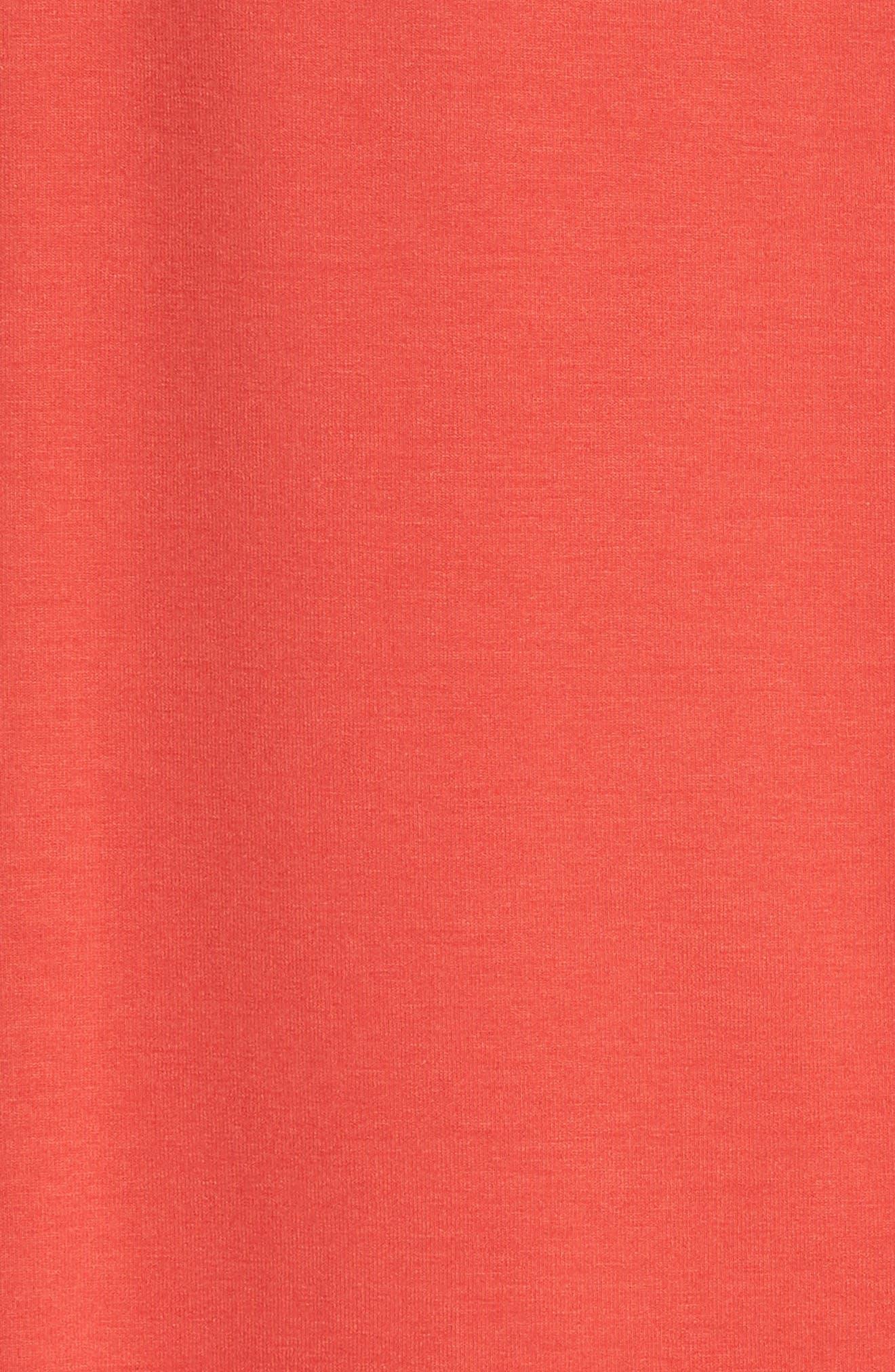 Lightweight Jersey Shift Dress,                             Alternate thumbnail 5, color,                             600