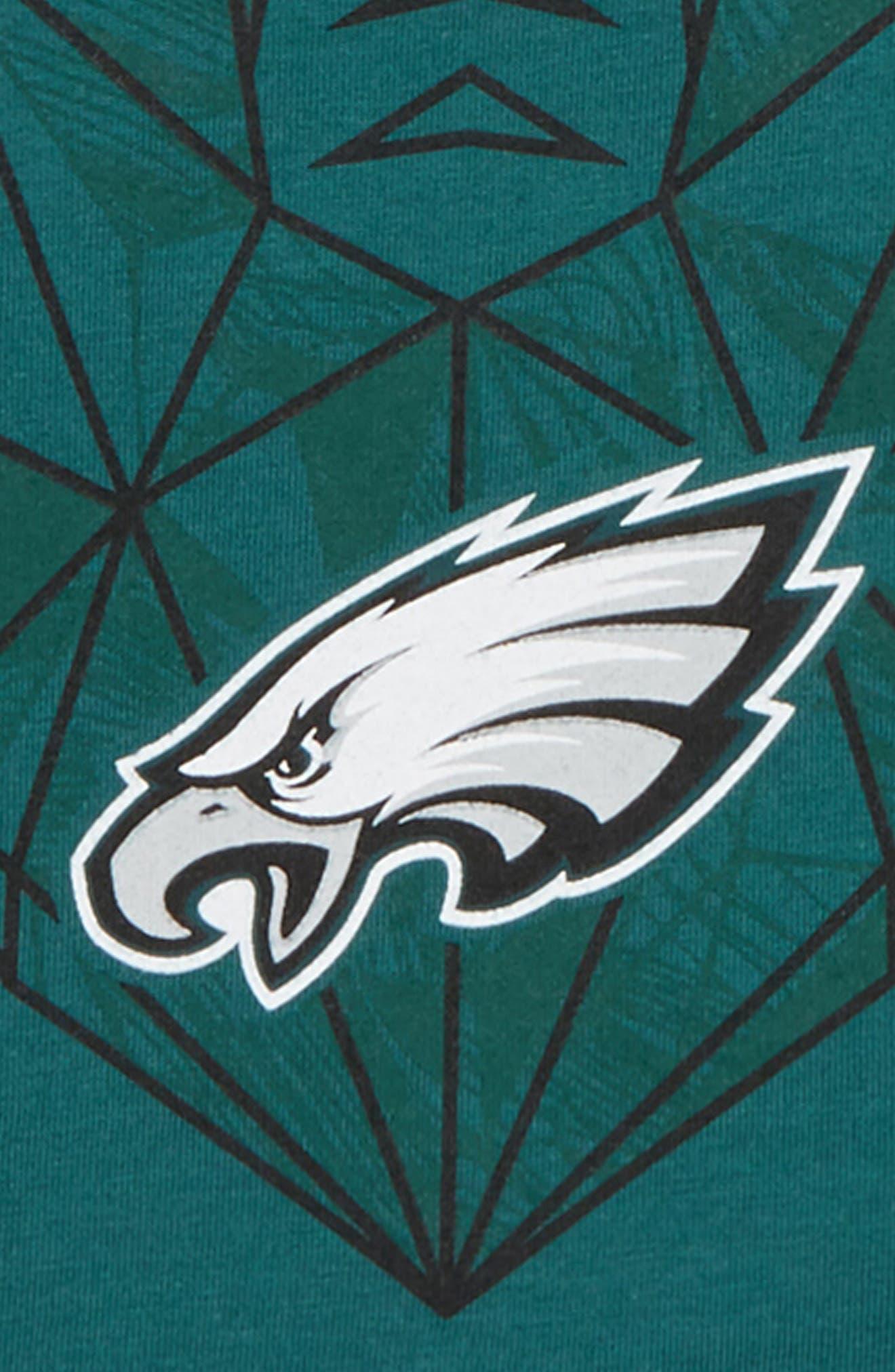 NFL Logo Philadelphia Eagles Graphic T-Shirt,                             Alternate thumbnail 2, color,                             300