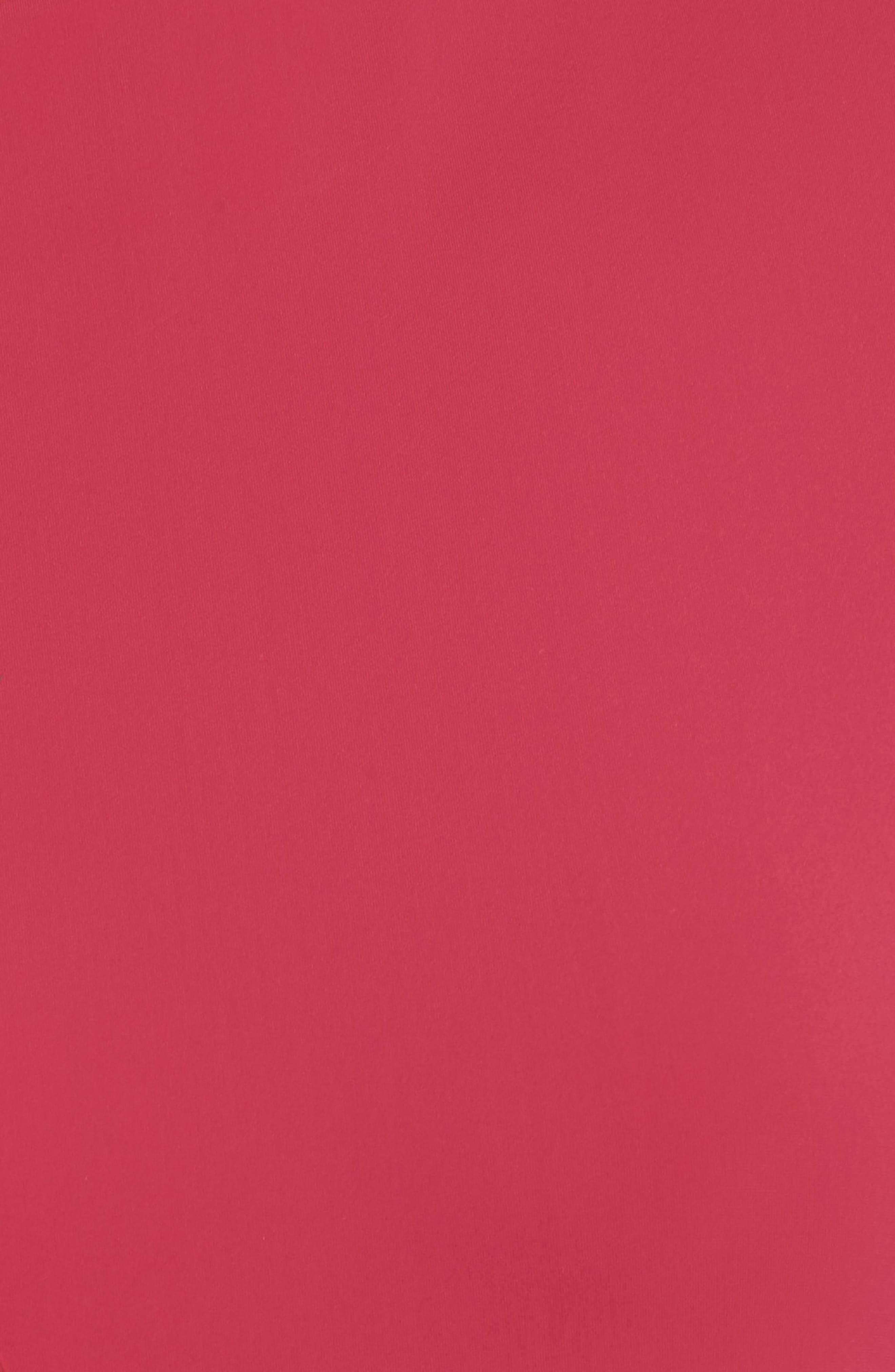 Logo Tape Tee,                             Alternate thumbnail 6, color,                             REDCERISE-YELLOWGOLD