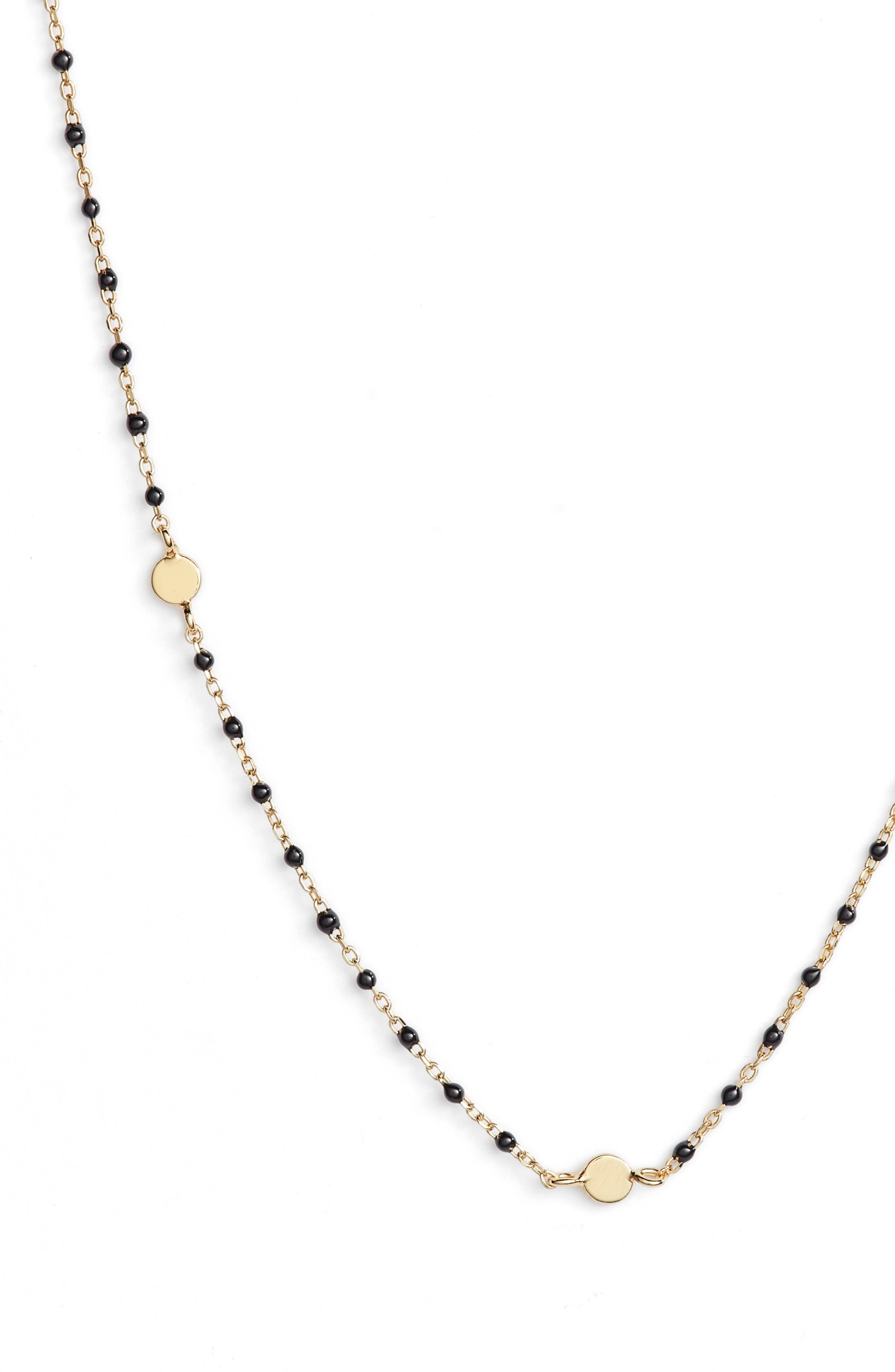 Beaded Station Necklace,                             Alternate thumbnail 6, color,